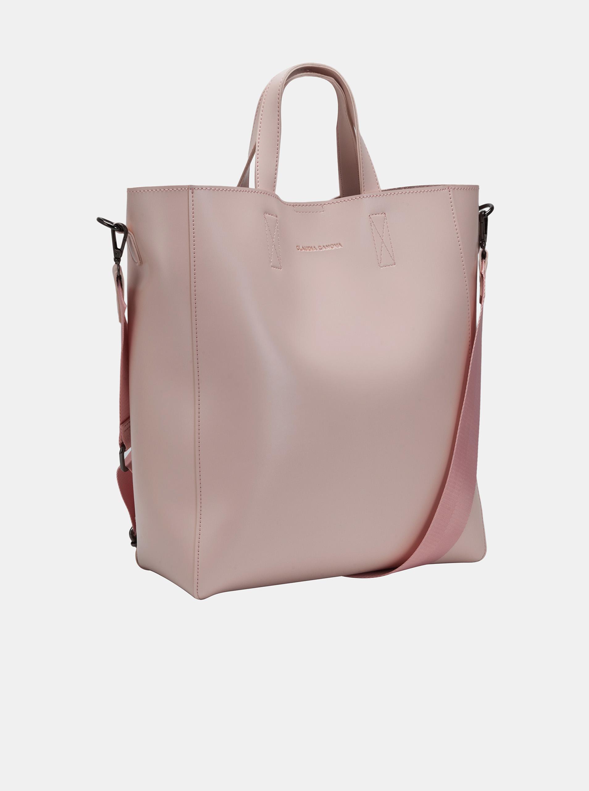 Claudia Canova розова голяма дамска чанта
