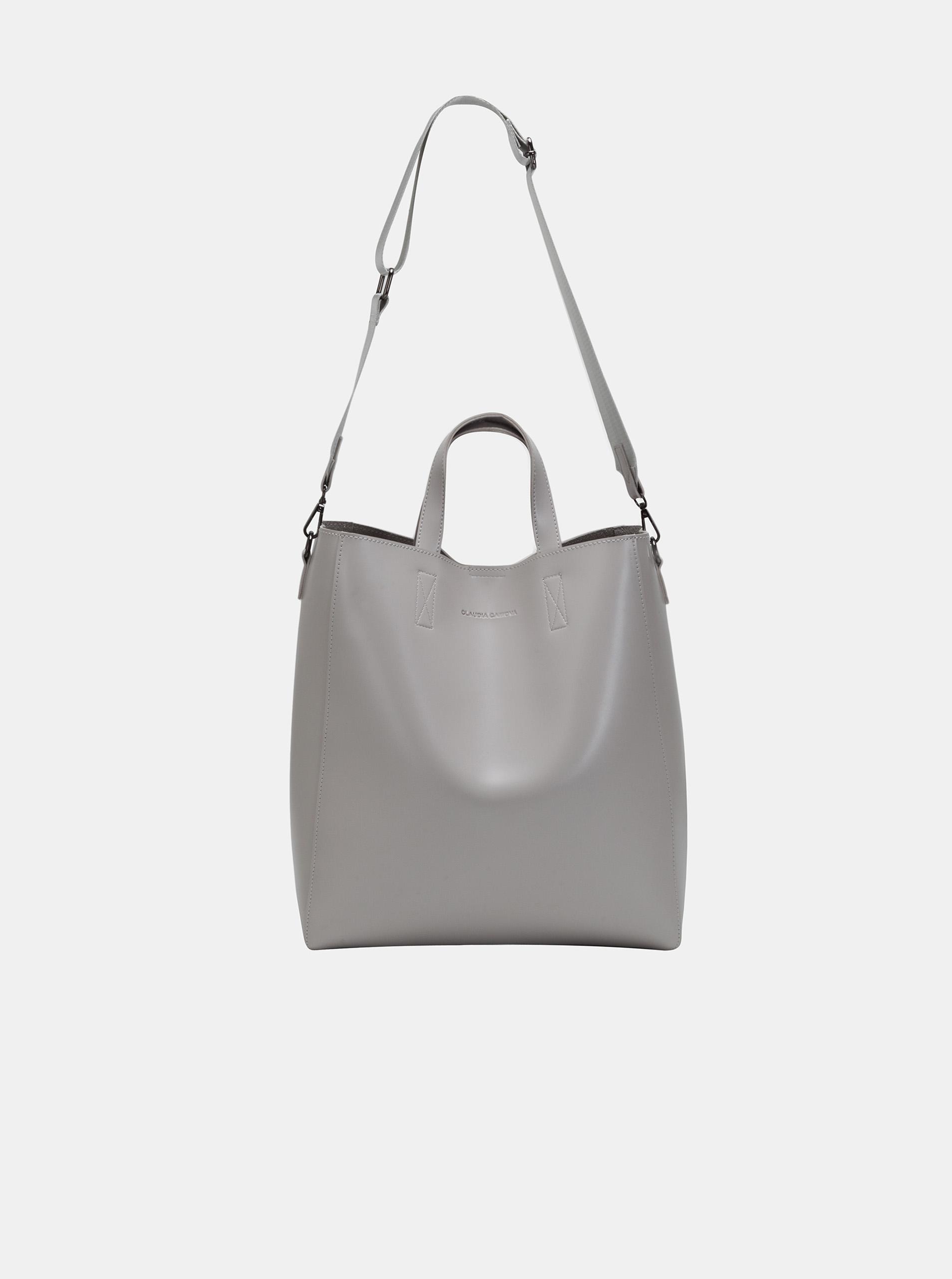 Claudia Canova сива голяма дамска чанта