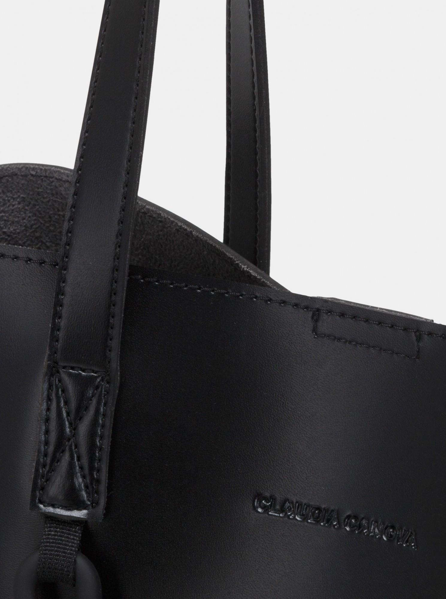 Claudia Canova черна голяма дамска чанта