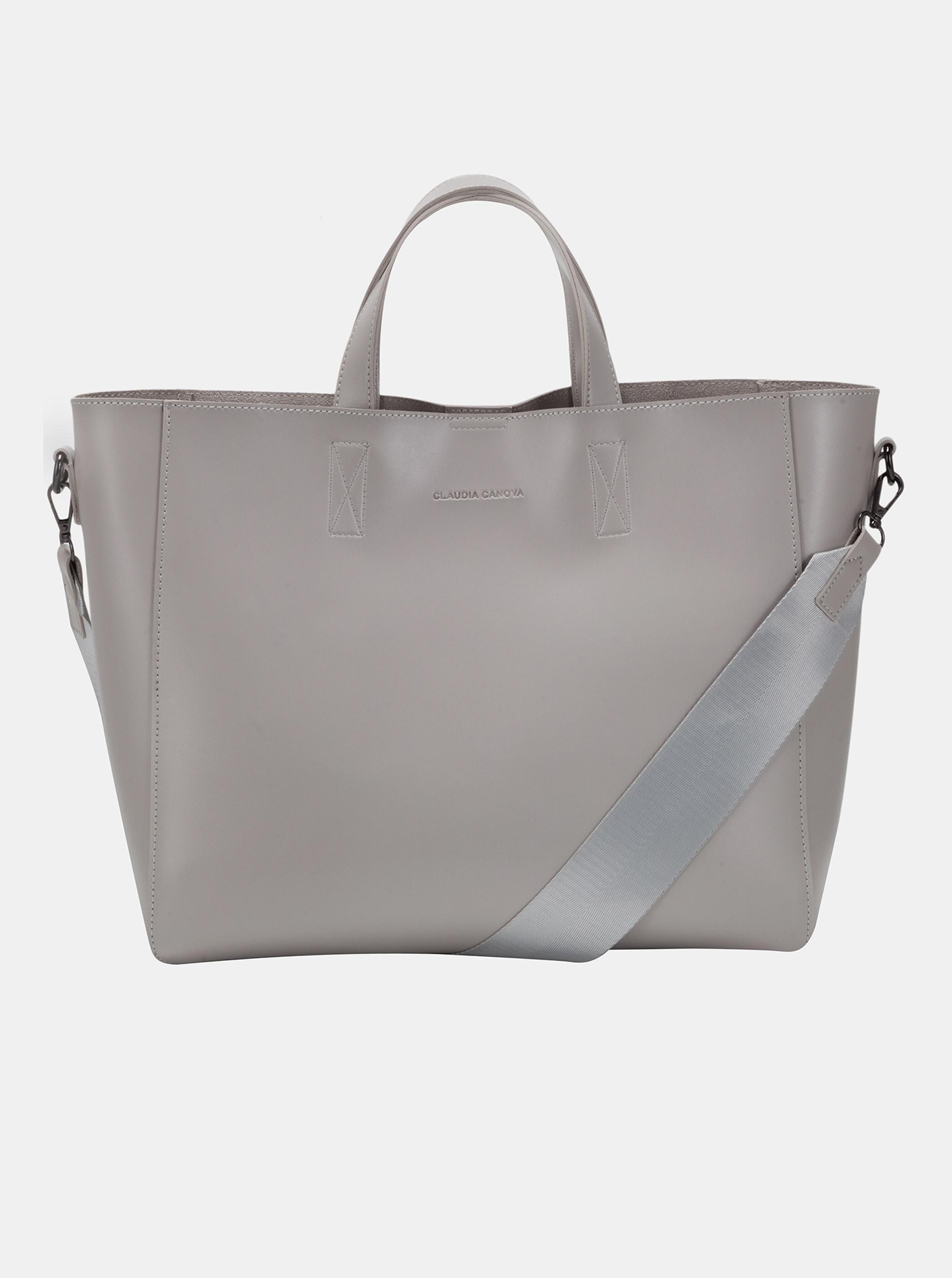 Claudia Canova сива дамска чанта