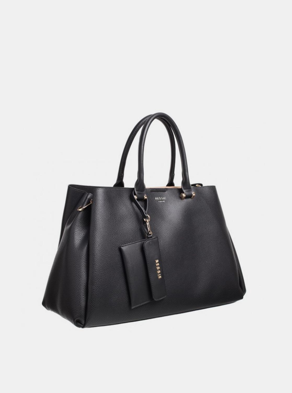 Bessie London черна дамска чанта