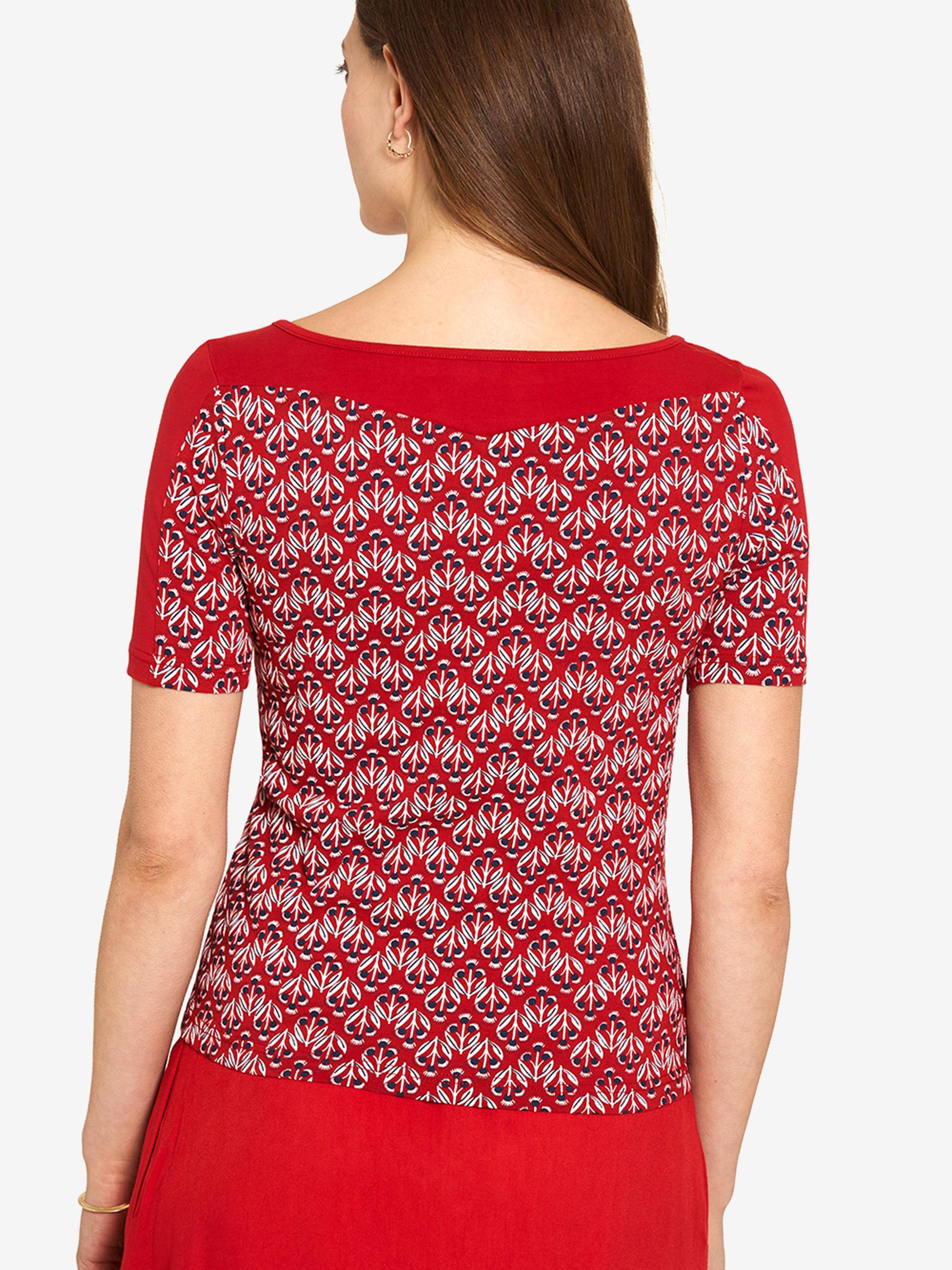 Tranquillo червена риза с шарка