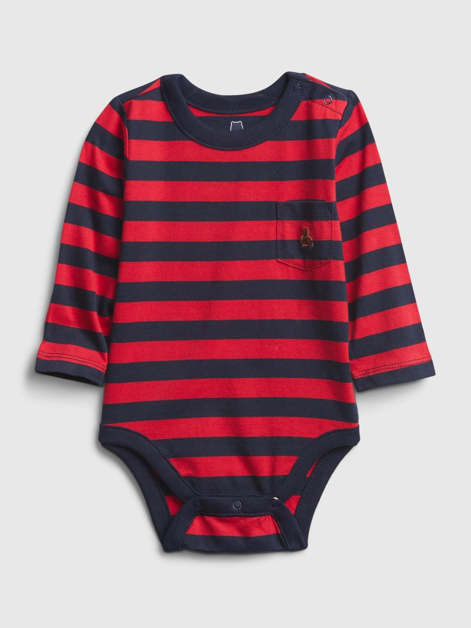 GAP Детска тениска за момче червено