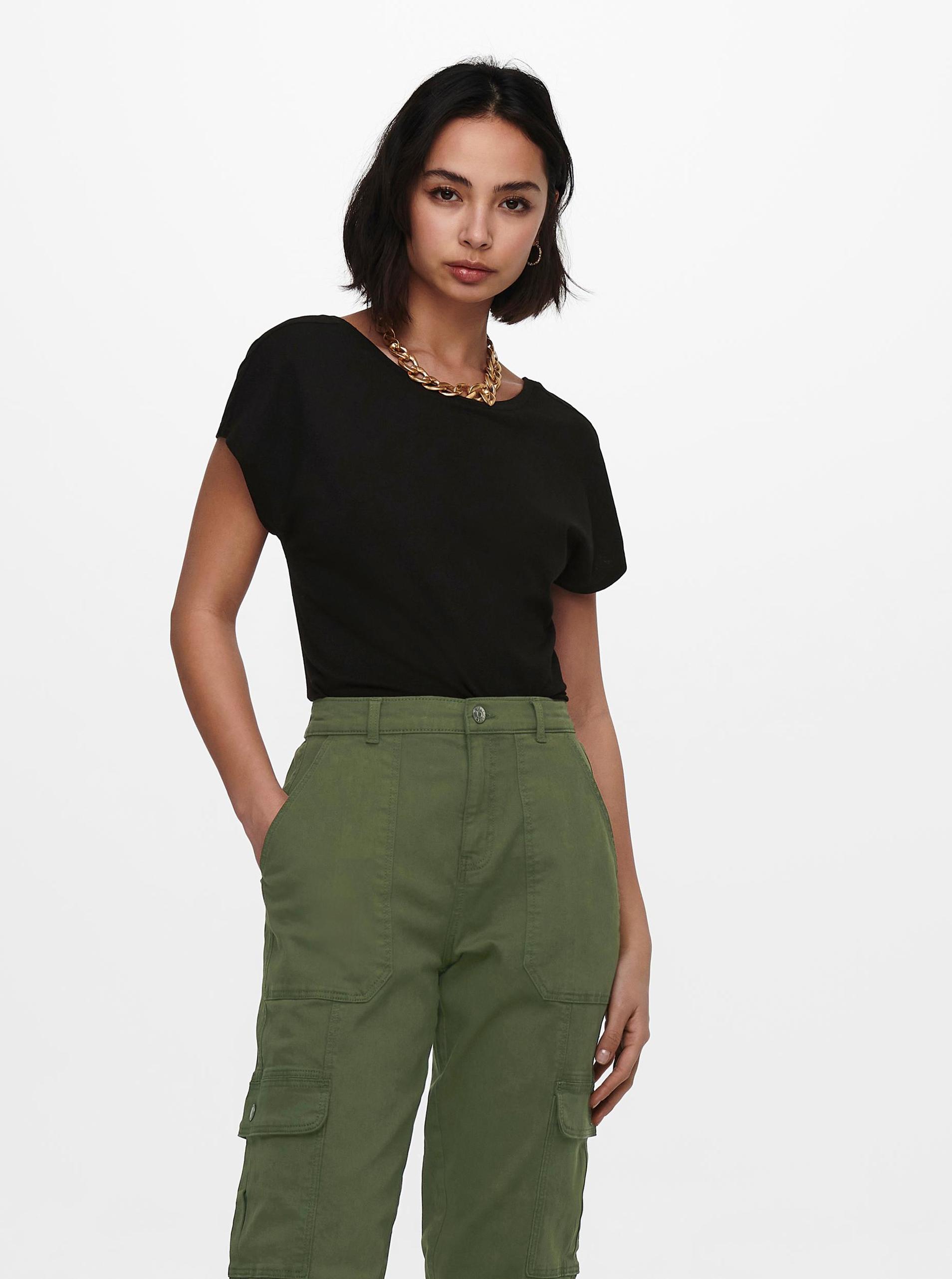 Only черна женски риза Ama
