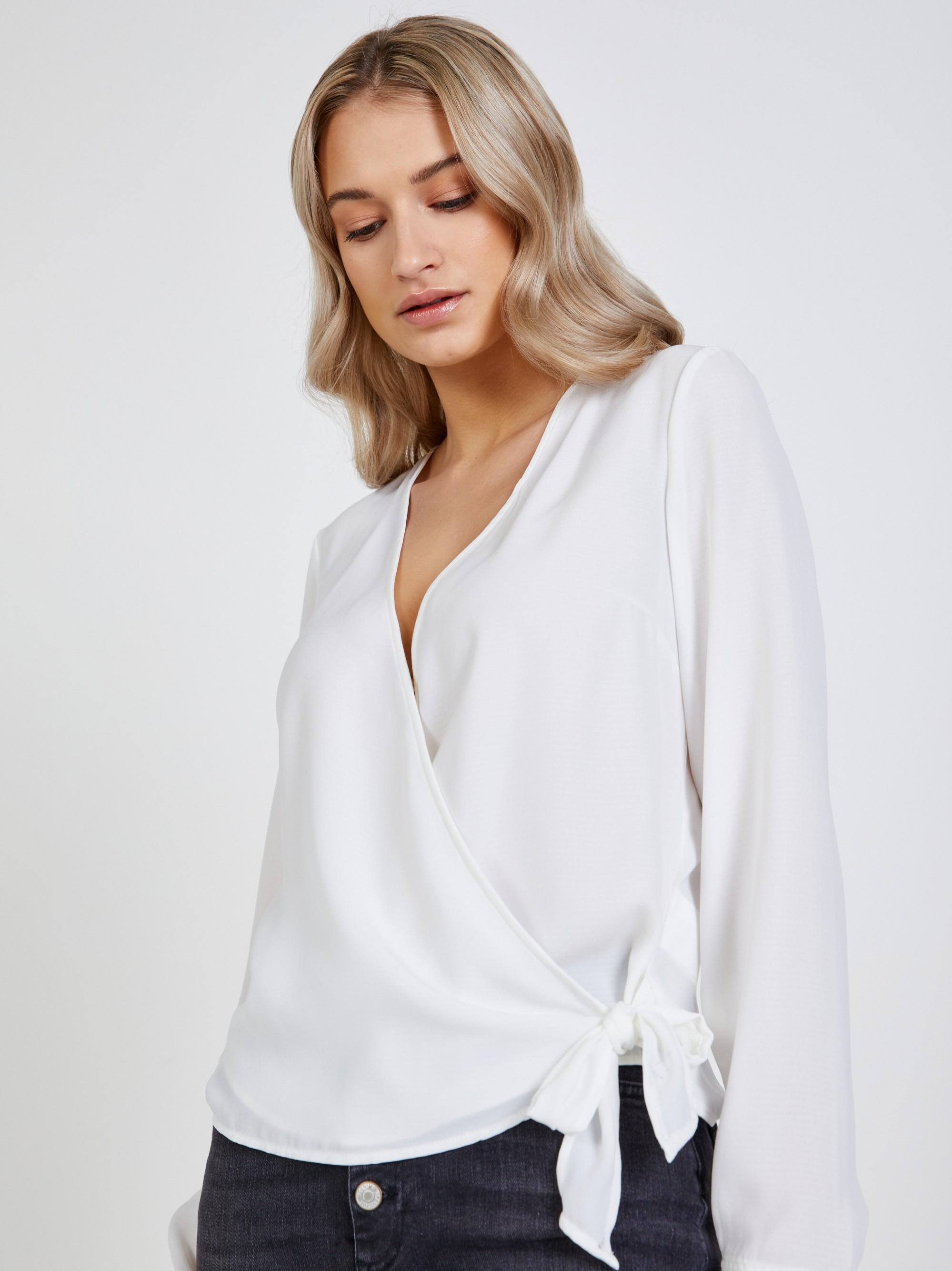 CAMAIEU бяла блуза