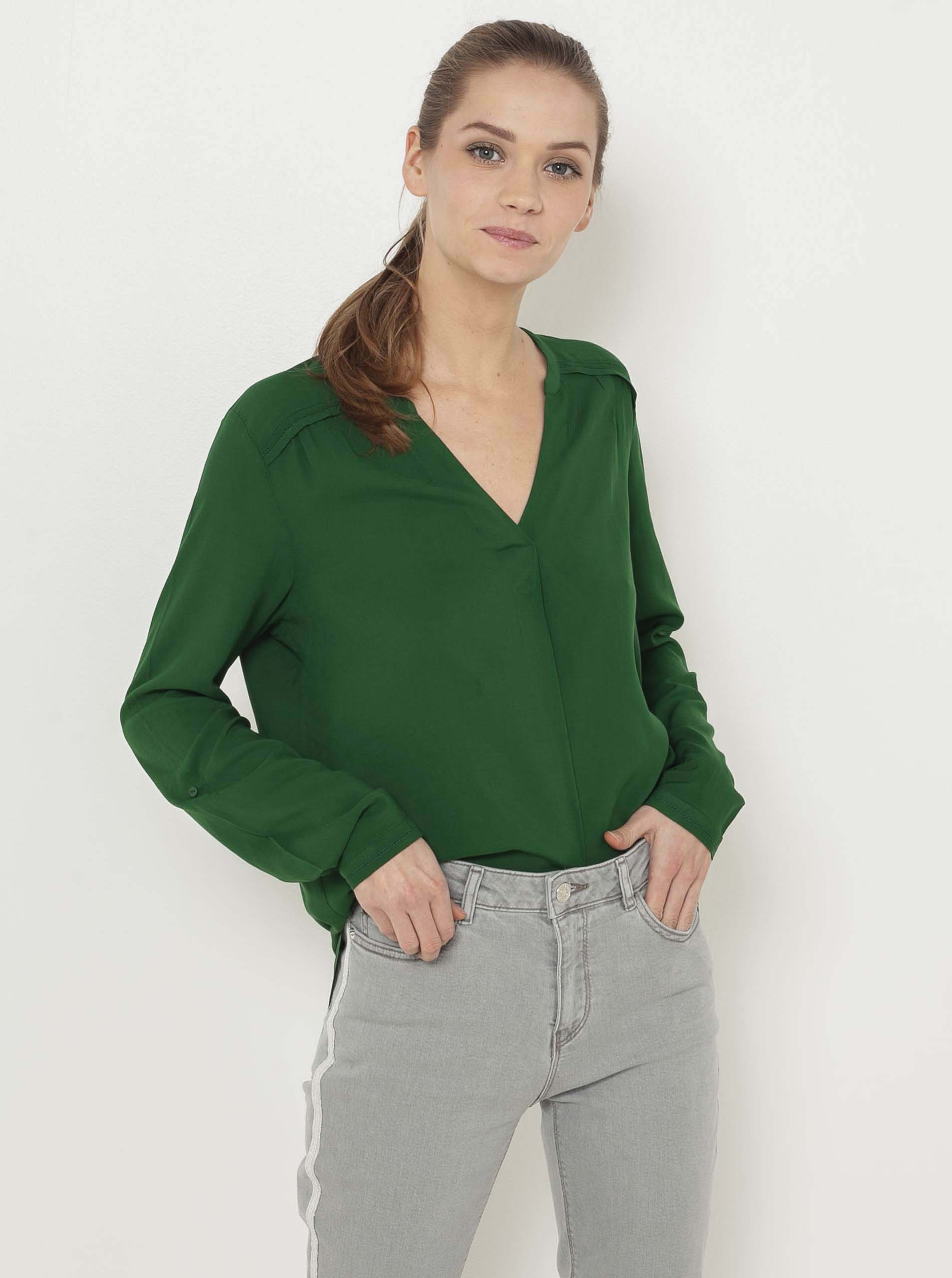 CAMAIEU зелена блуза