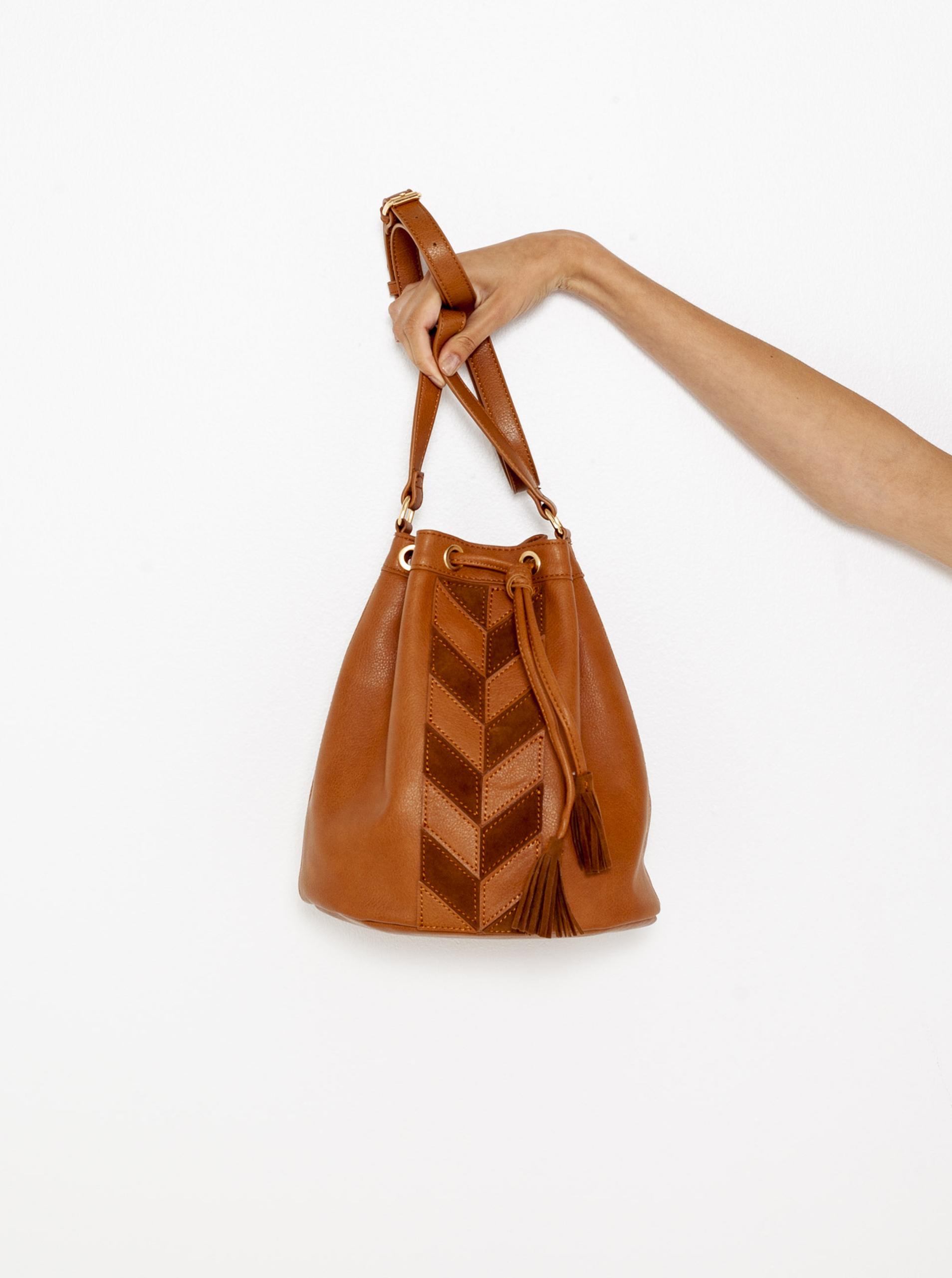 Кафява чанта CAMAIEU