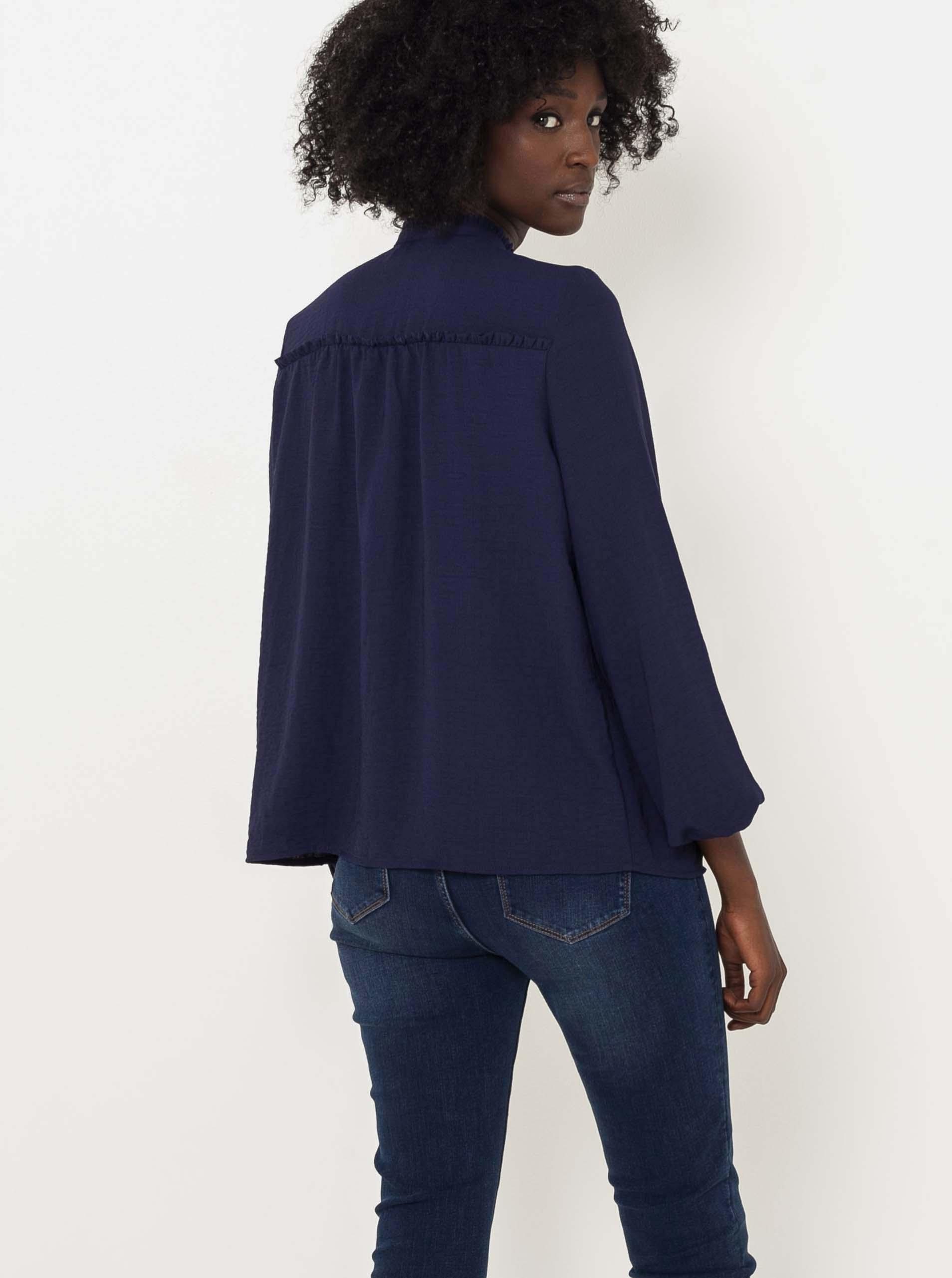 CAMAIEU синя женски блуза
