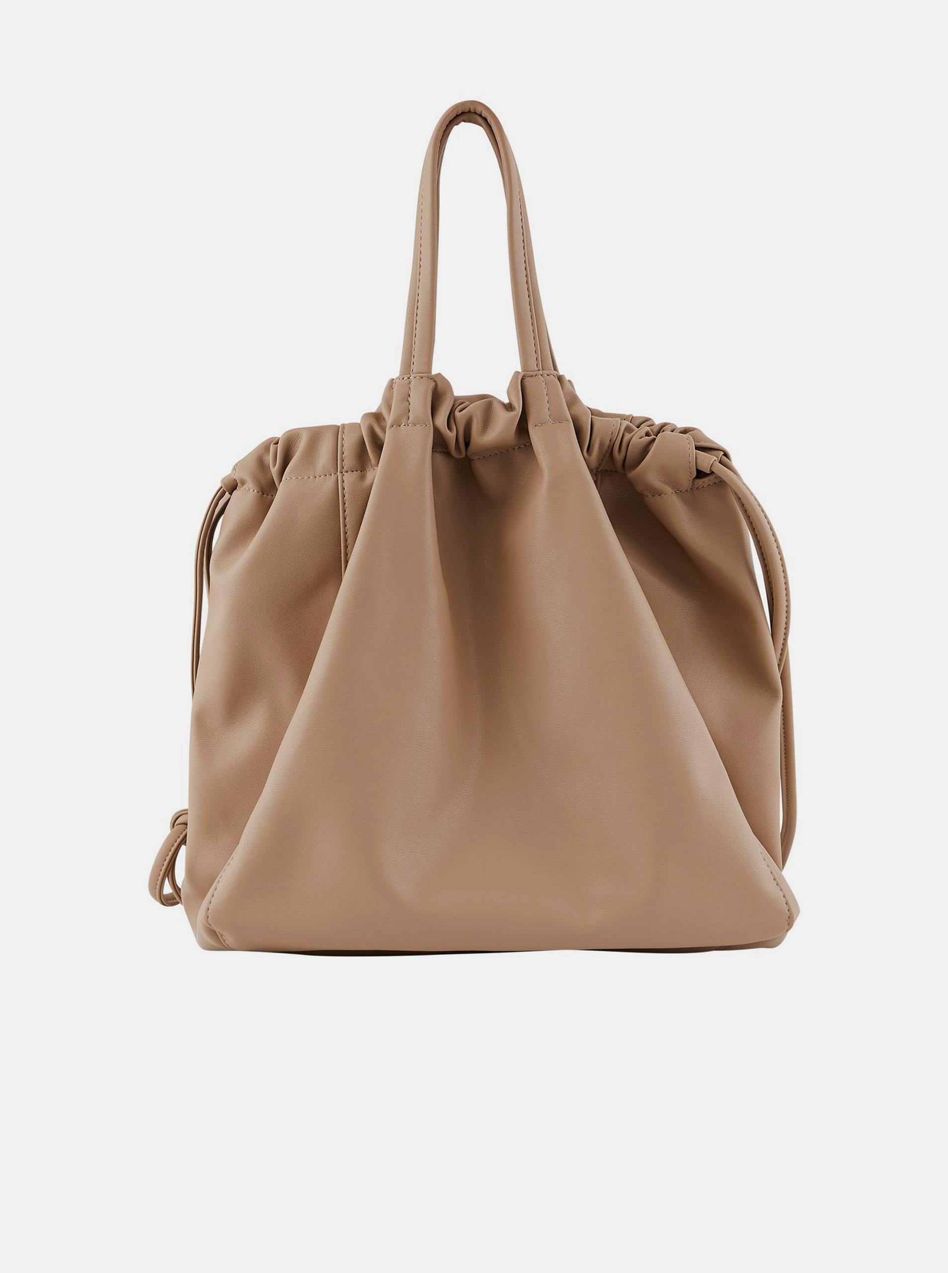 Pieces бежова чанта Talli