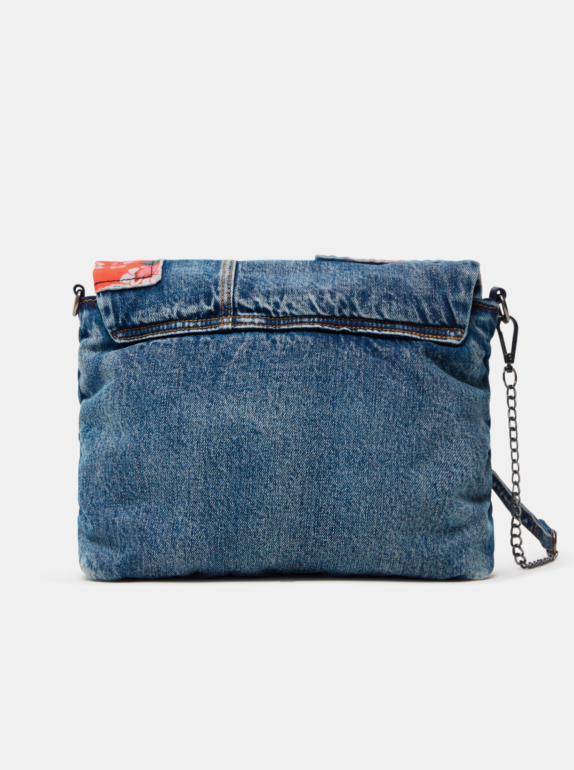 Desigual синя crossbody дамска чанта Beta Patch Vera