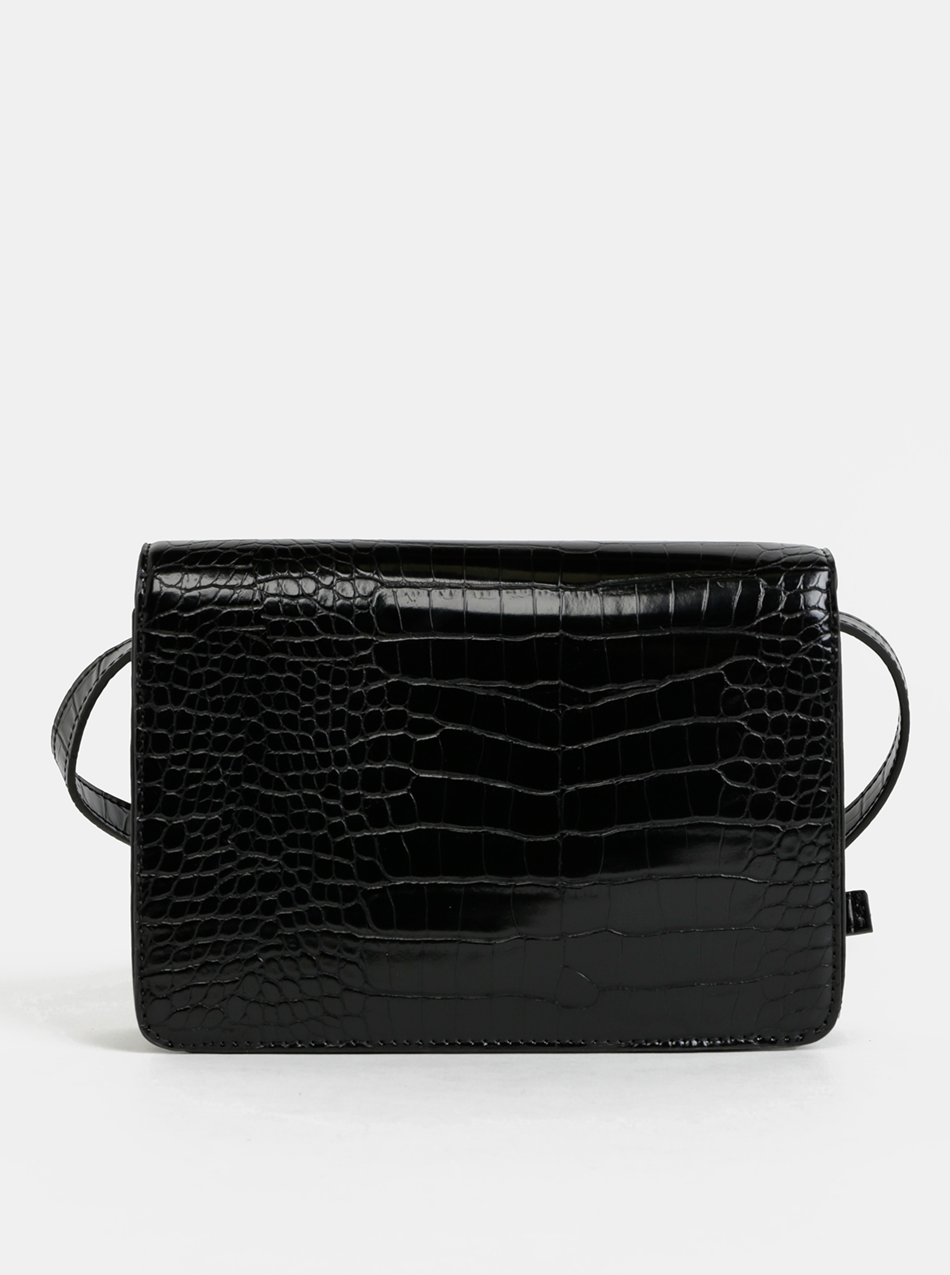 Pieces черна crossbody дамска чанта Julie