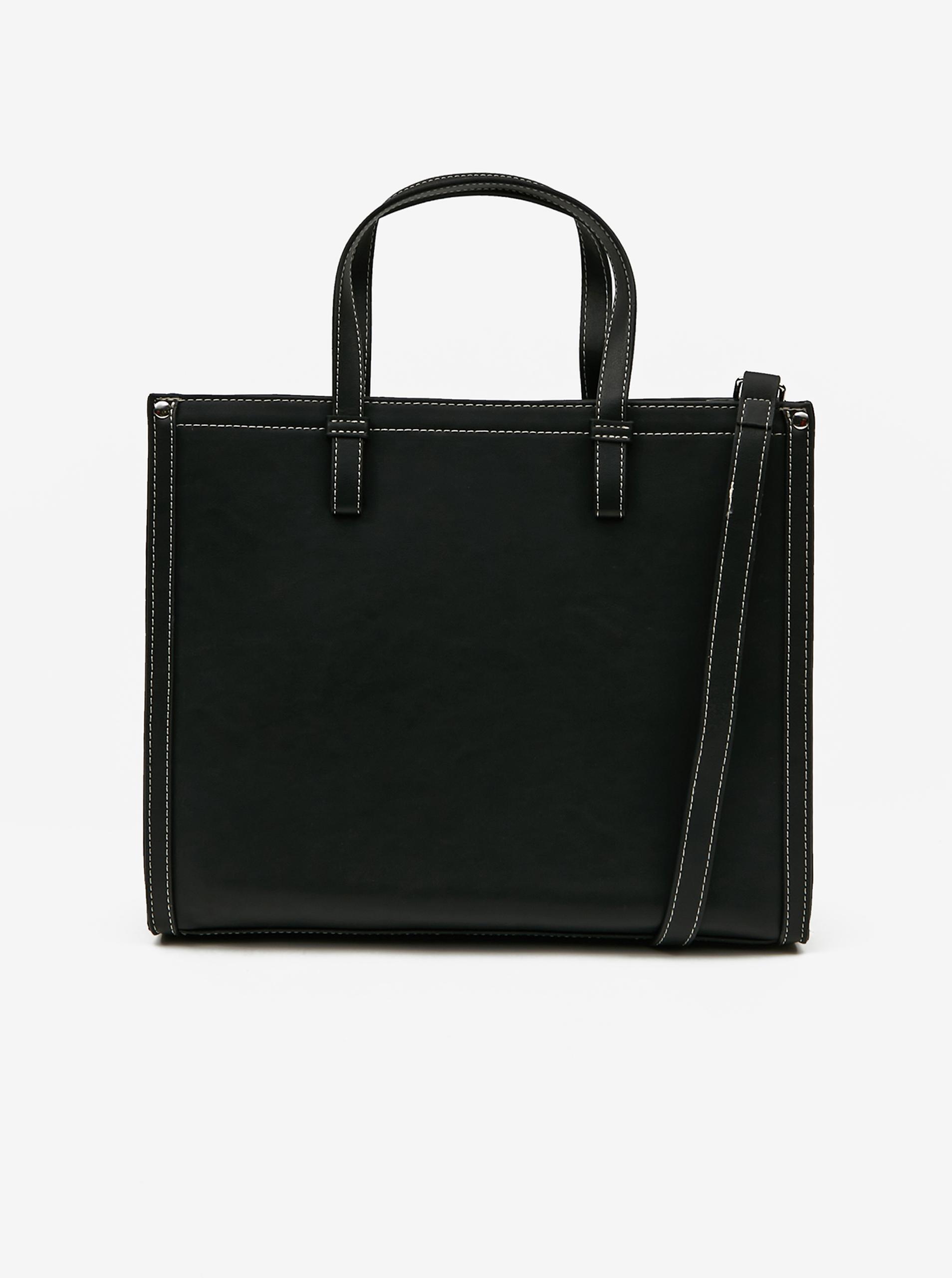 Pieces черна дамска чанта Lole