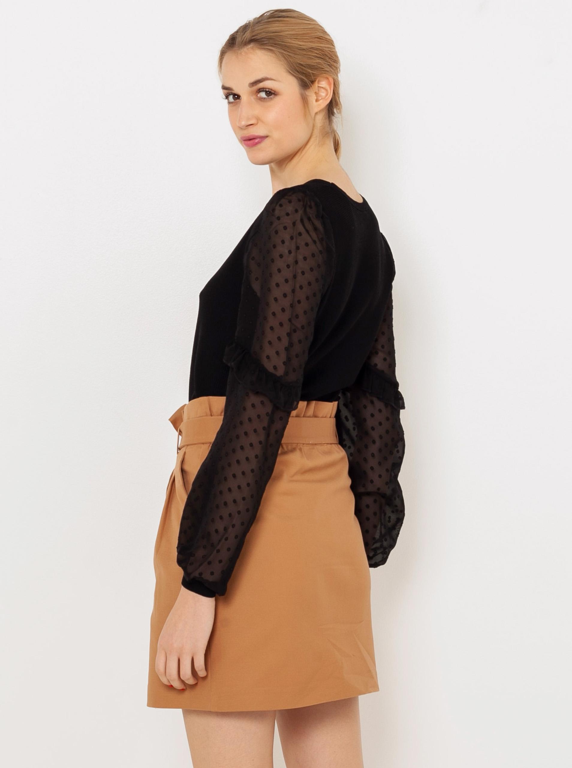 CAMAIEU Дамска блуза черно