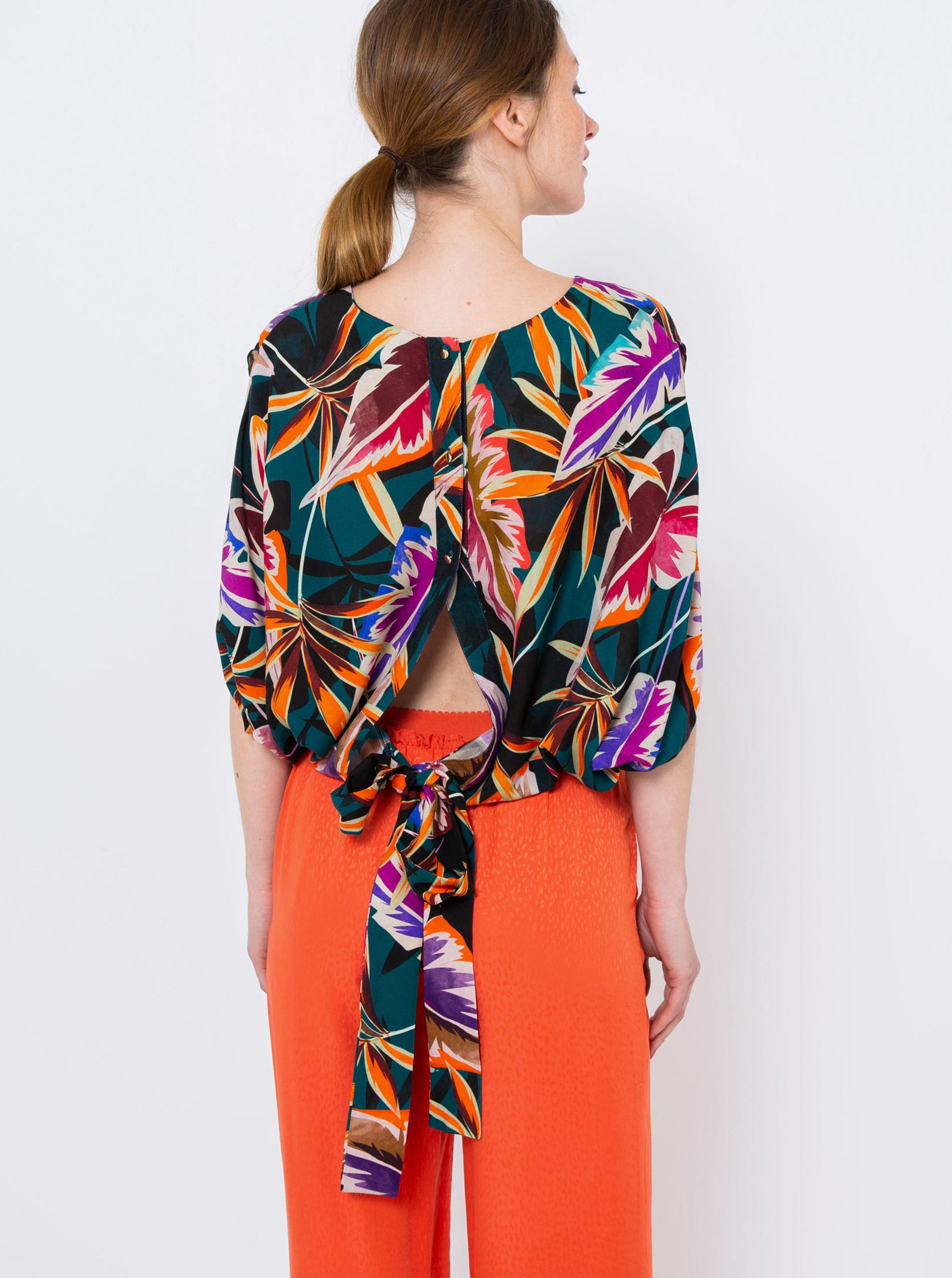 CAMAIEU блуза с флорален мотив