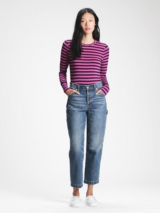 GAP Дамски тениски и потници лилаво