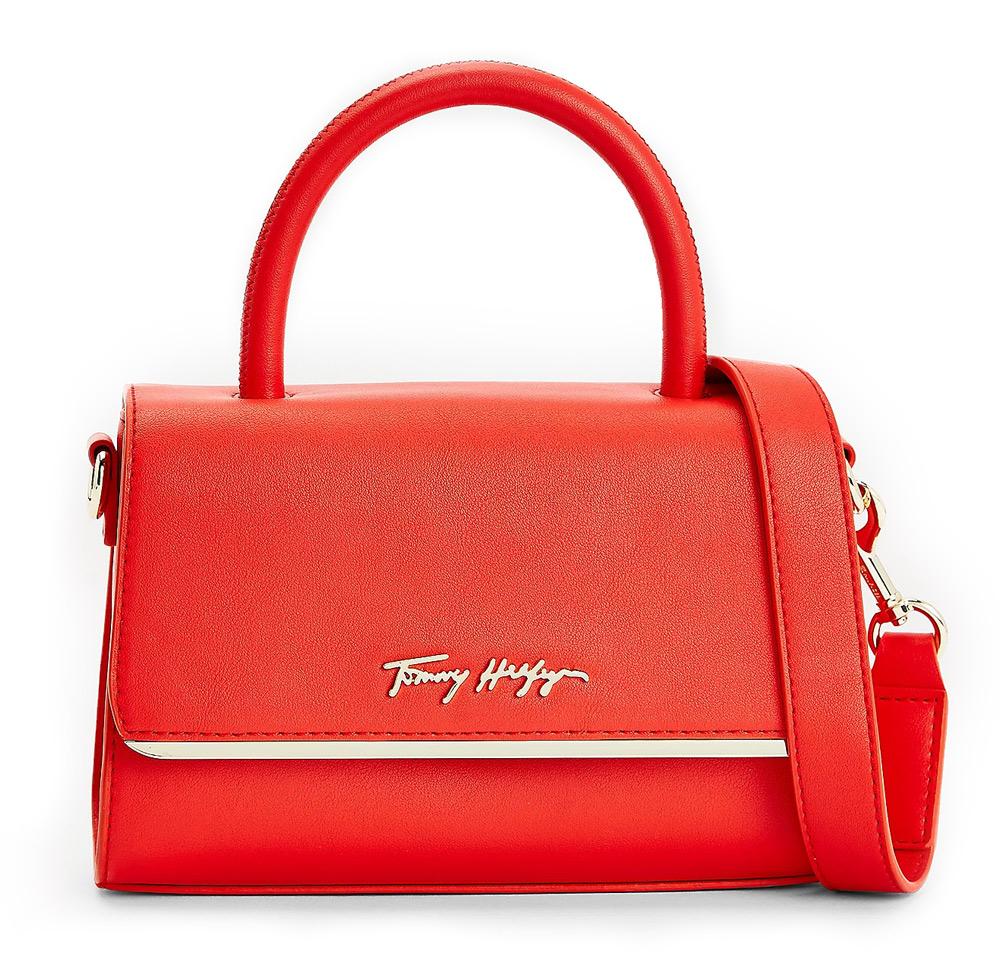 Tommy Hilfiger червена crossbody малка дамска чанта