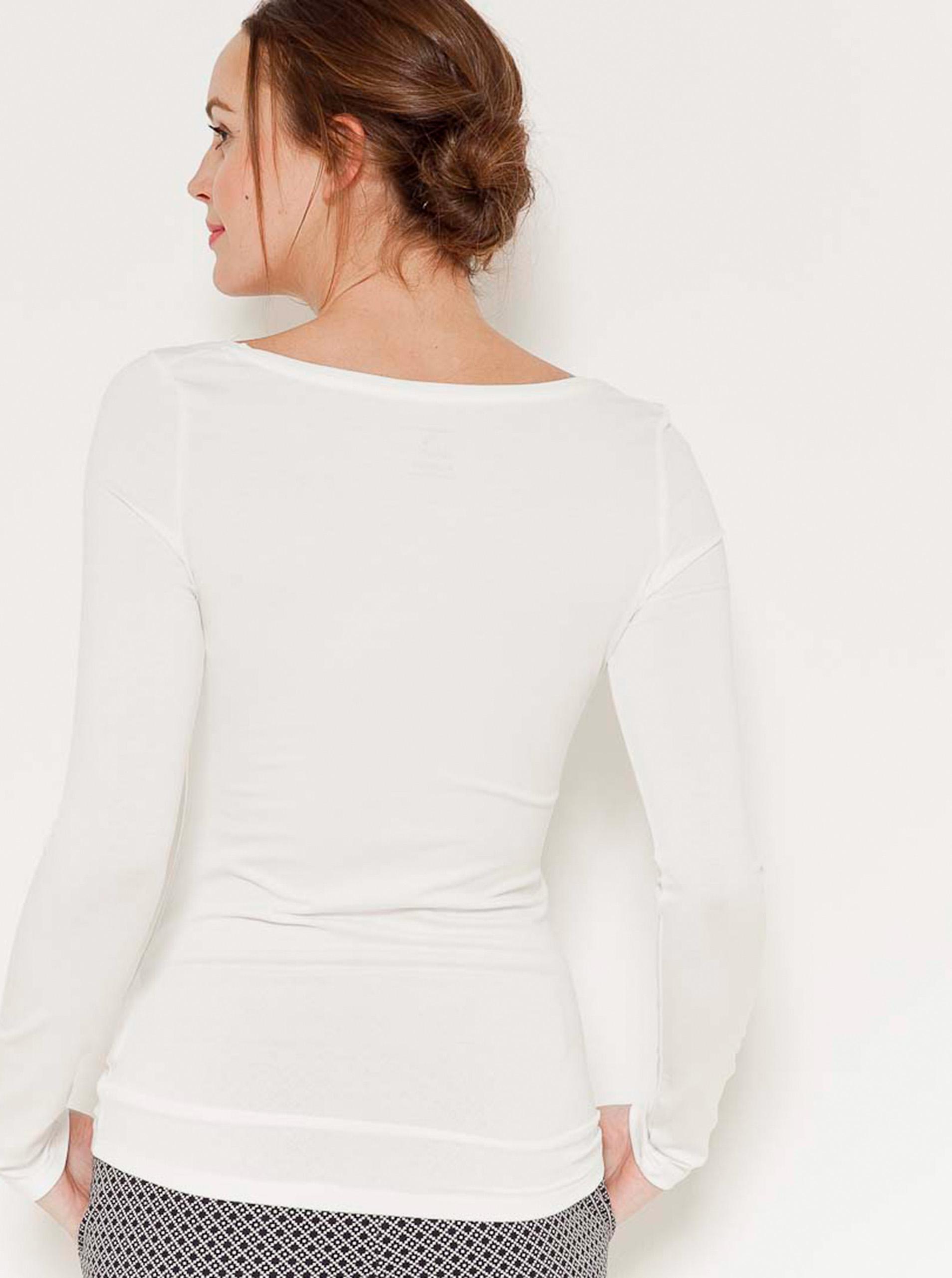 CAMAIEU бяла basic женски риза