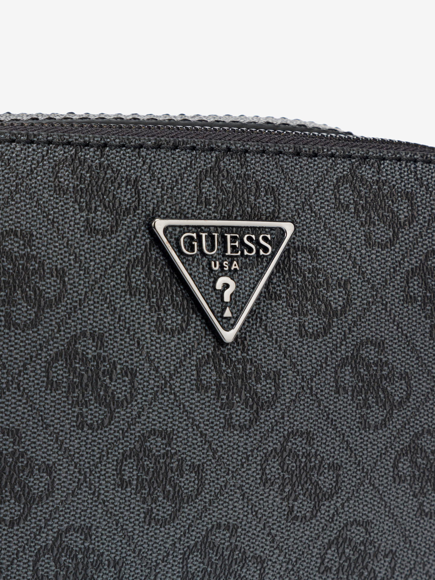 Guess сива crossbody дамска чанта Noelle