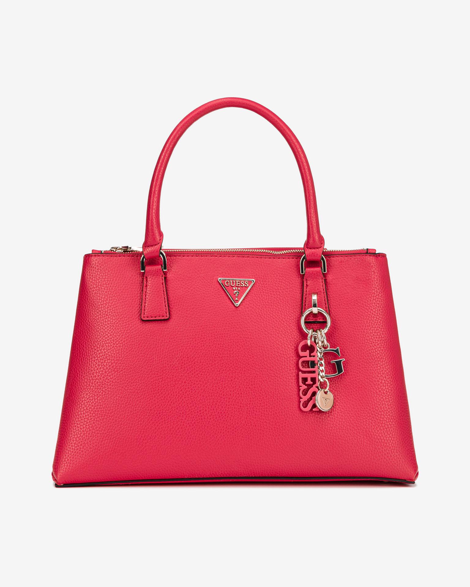 Guess червена дамска чанта Becca