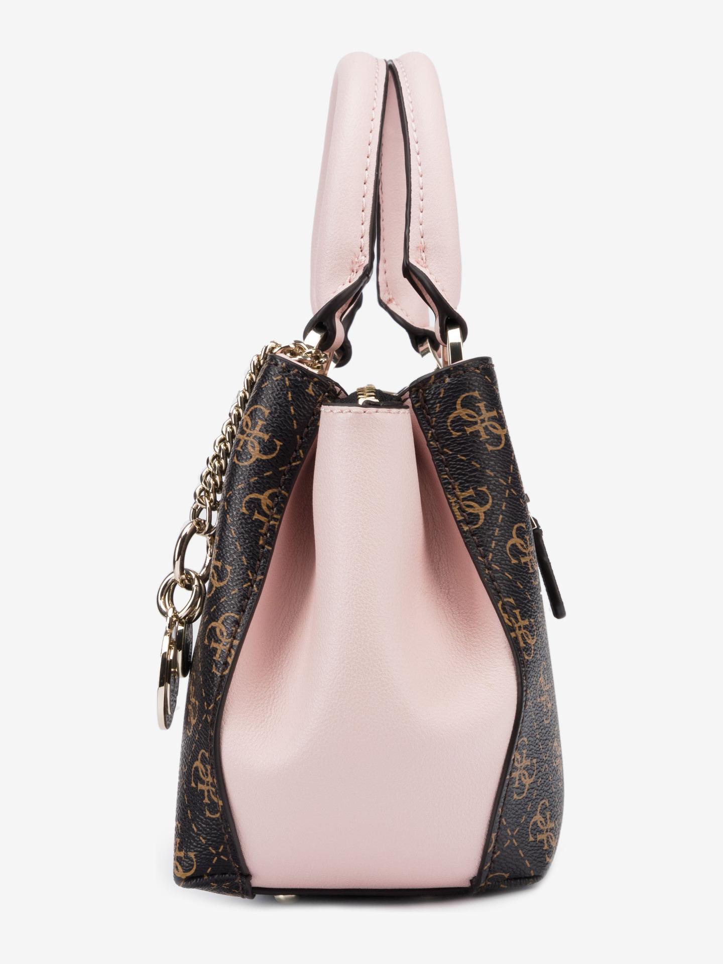 Guess кафява дамска чанта Ambrose Small