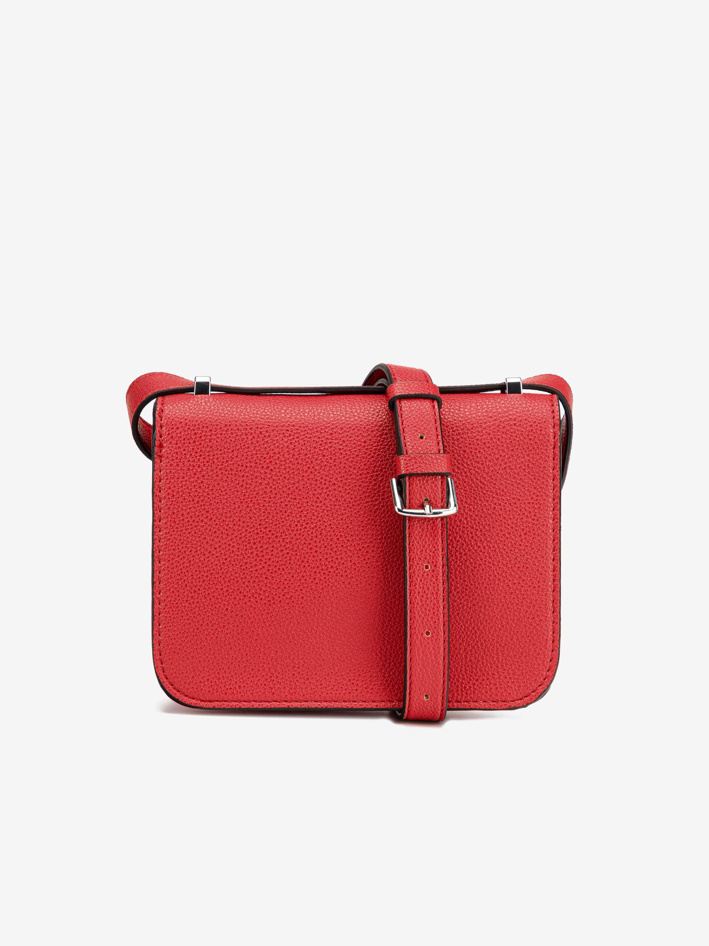 Guess червена crossbody дамска чанта Corily