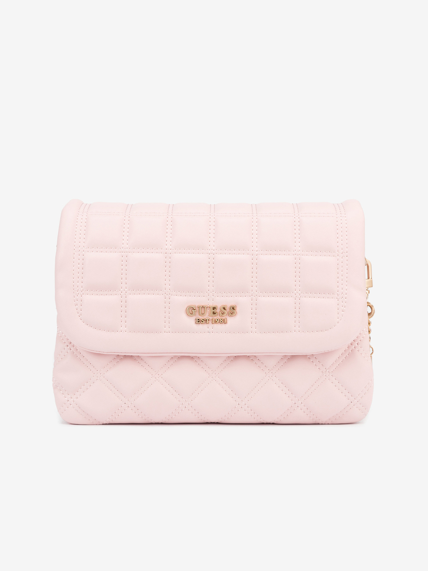 Guess розова дамска чанта Kamina