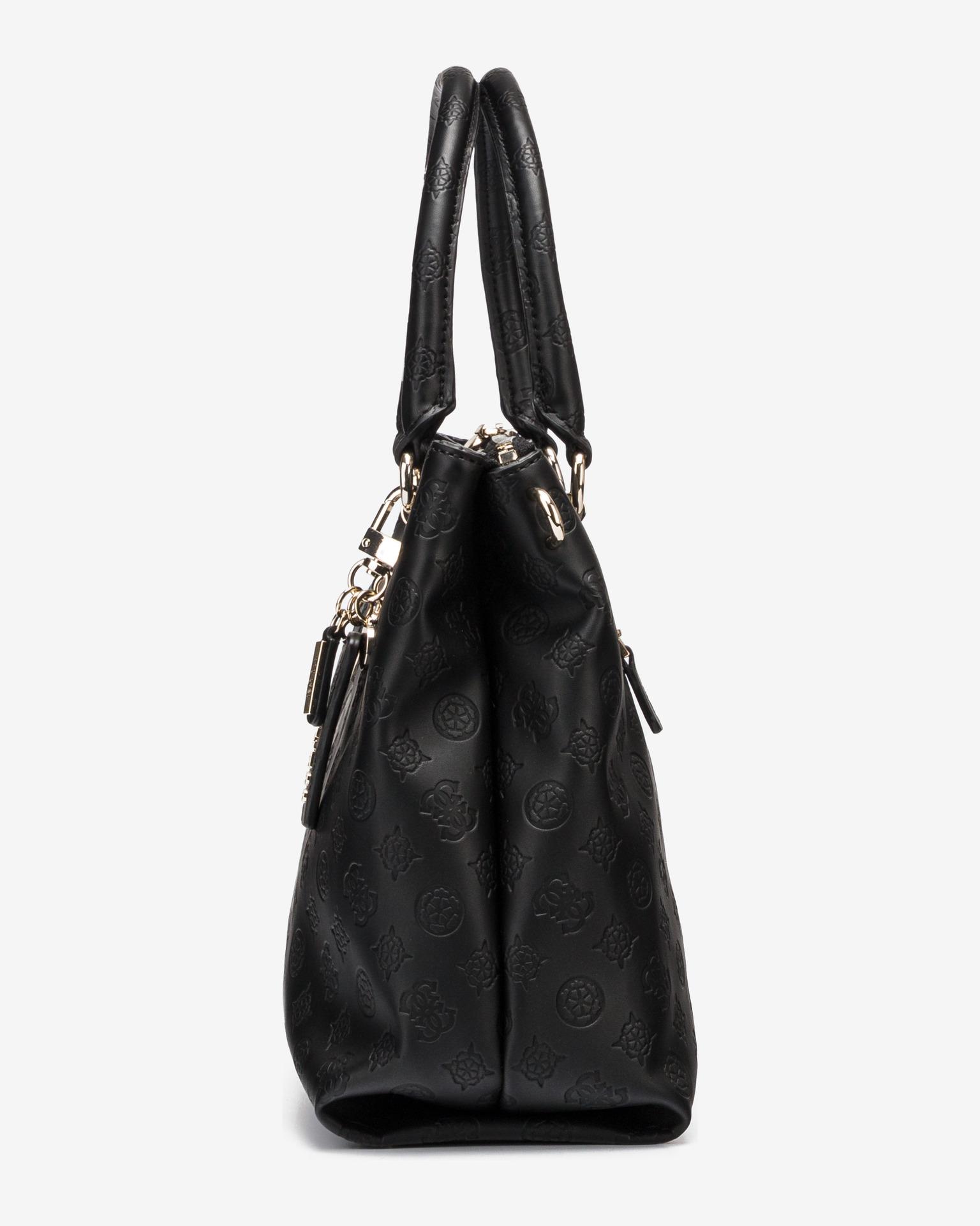Guess черна дамска чанта Ninnette Satus Carryall