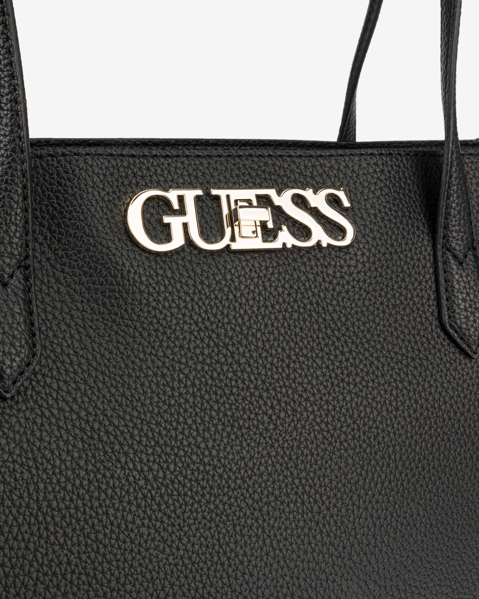Guess черна дамска чанта Uptown Chic Elite