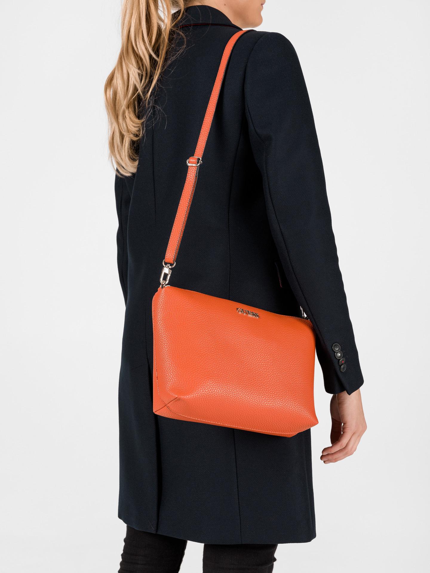 Guess кафява 2в1 дамска чанта Alby