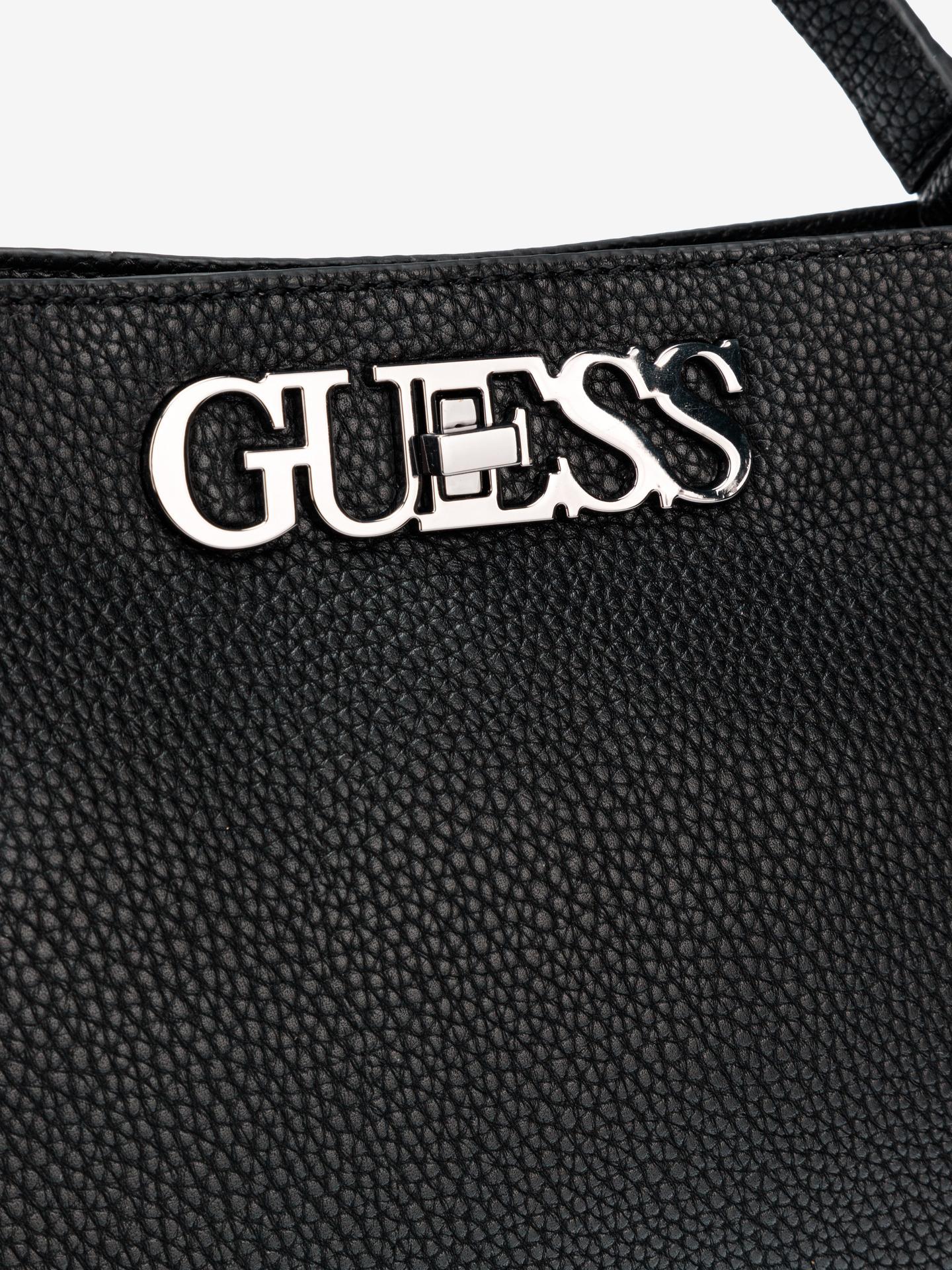 Guess черна дамска чанта Uptown Chic Large