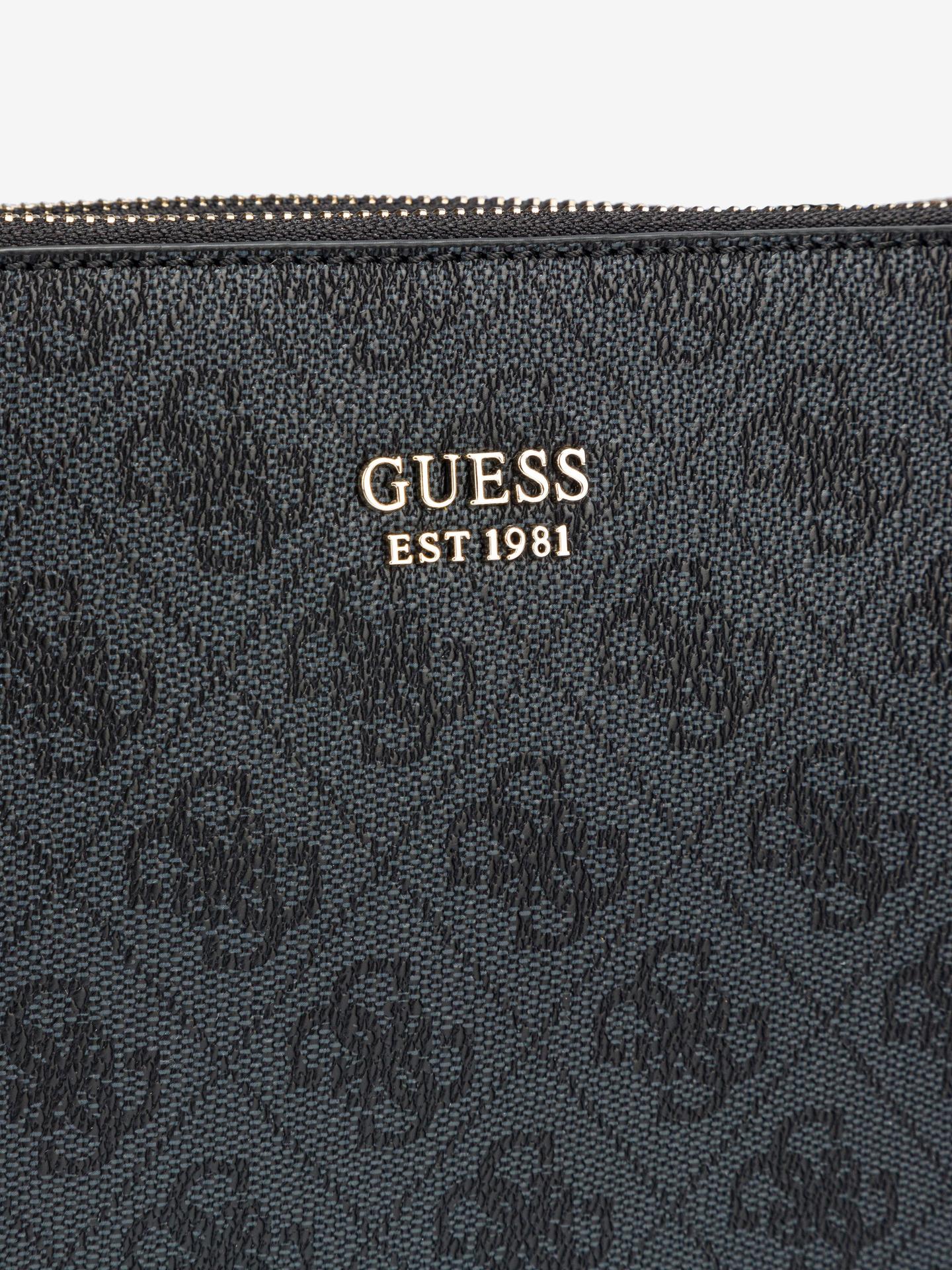 Guess сива crossbody дамска чанта Naya