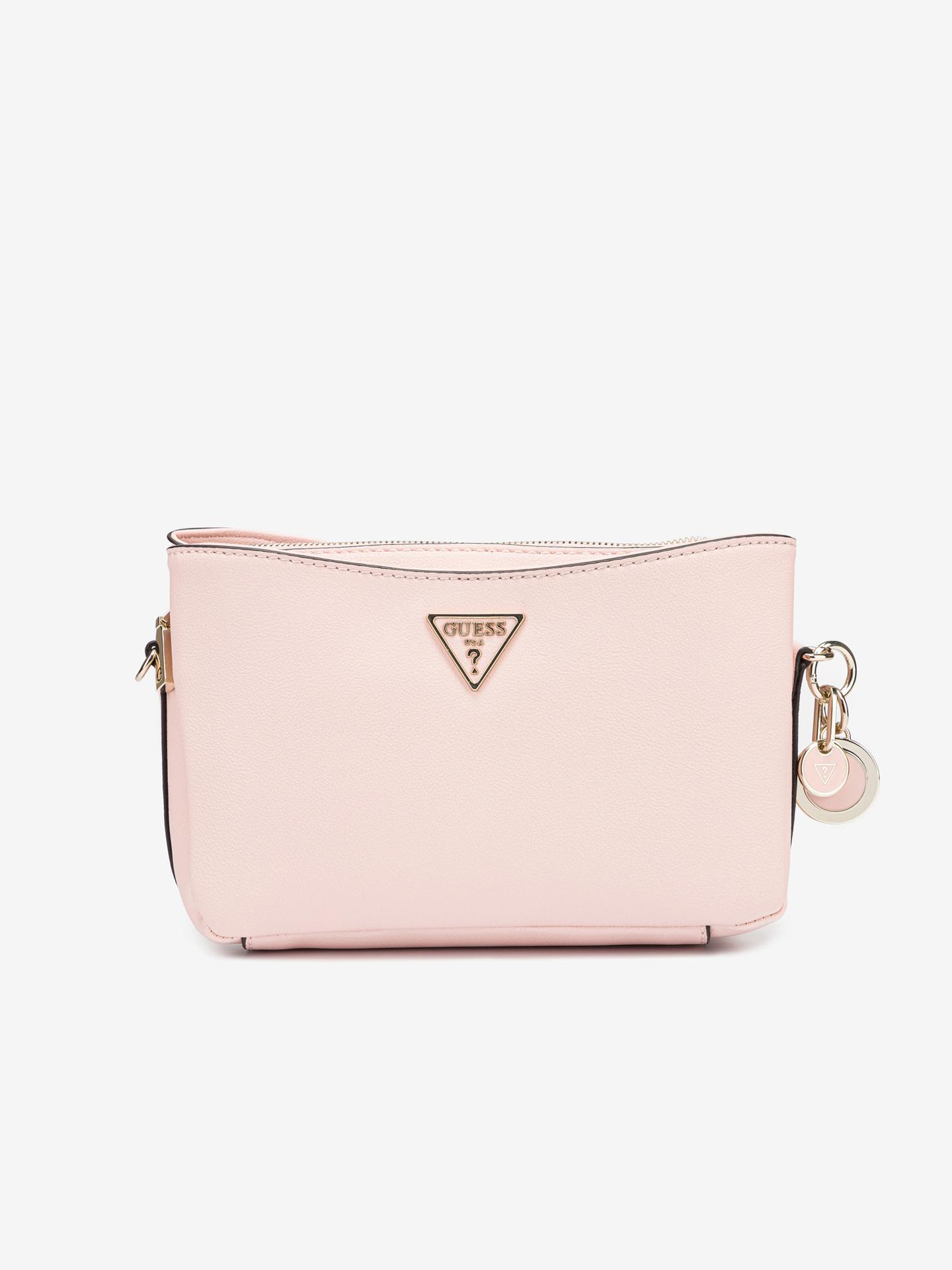 Guess розова crossbody дамска чанта Ambrose