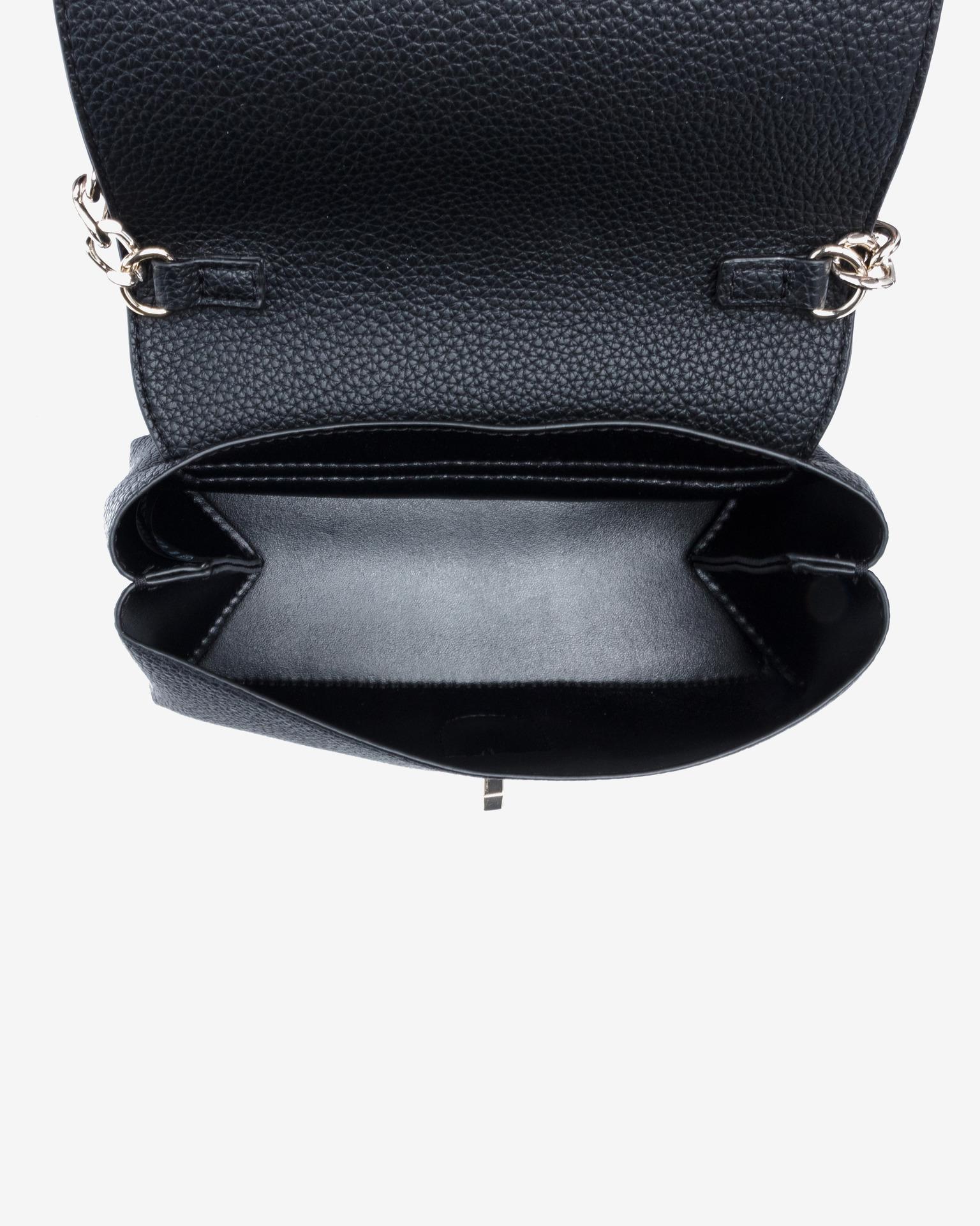 Guess черна crossbody дамска чанта Uptown Chic Mini
