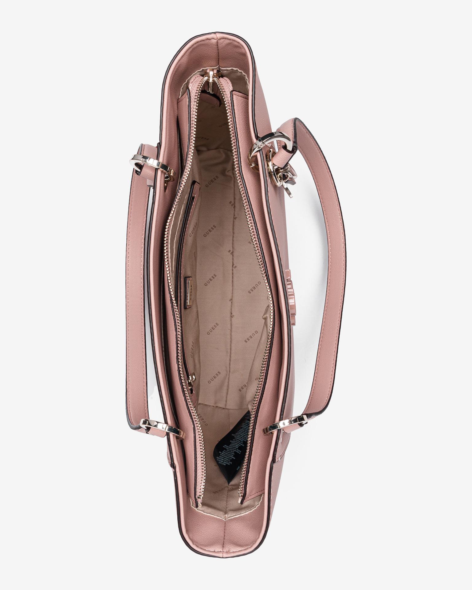 Guess розова дамска чанта Noelle