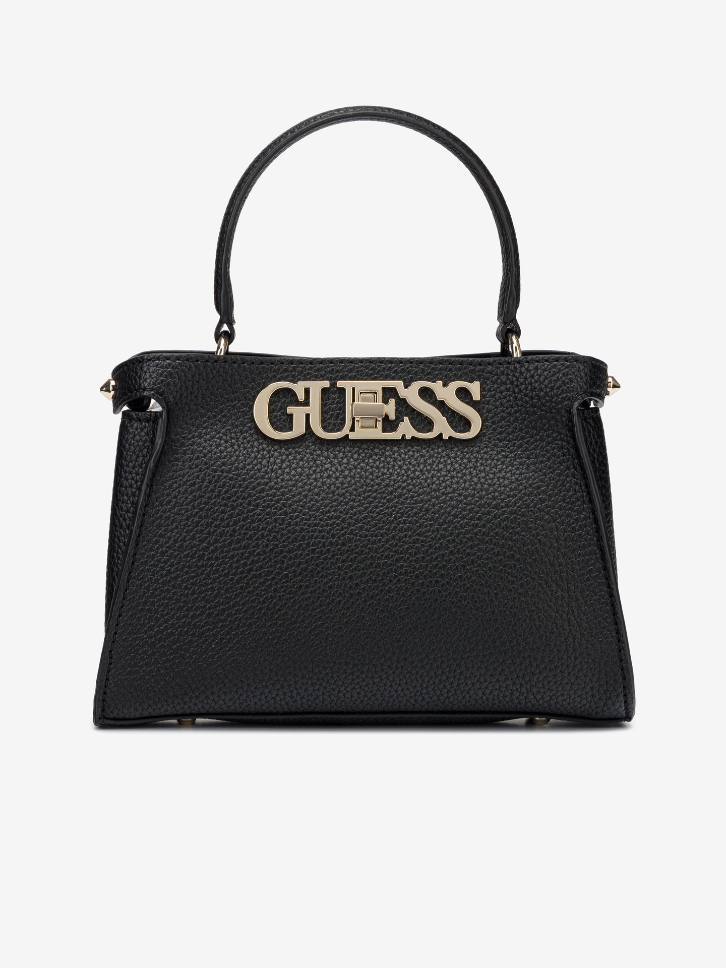 Guess черна дамска чанта Uptown Chic Small