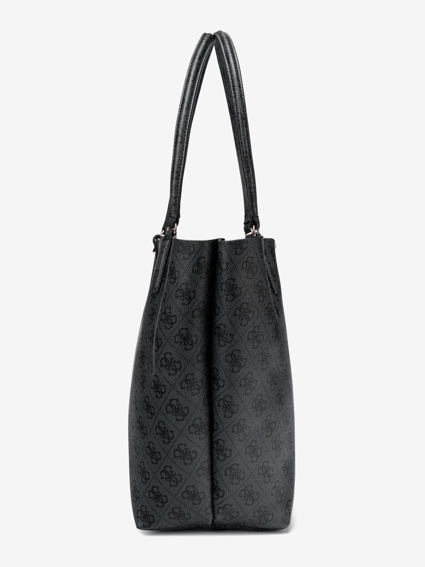 Guess черна дамска чанта Alby