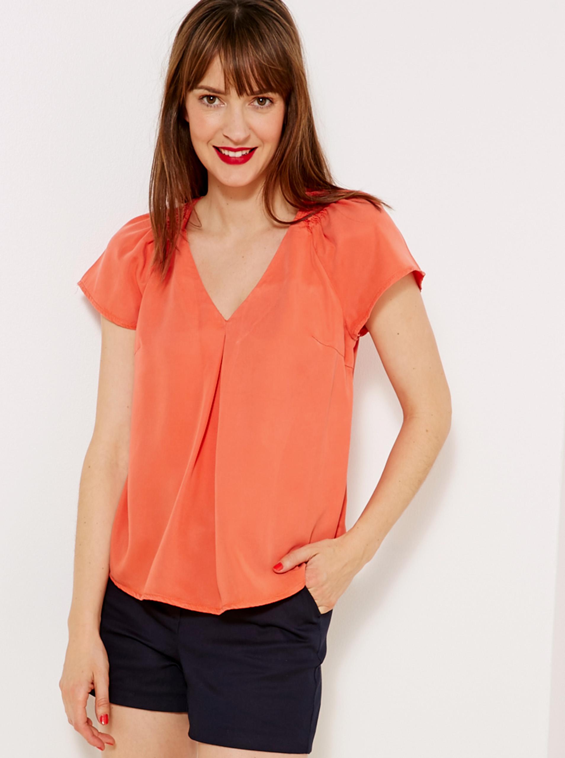CAMAIEU Дамска блуза оранжево