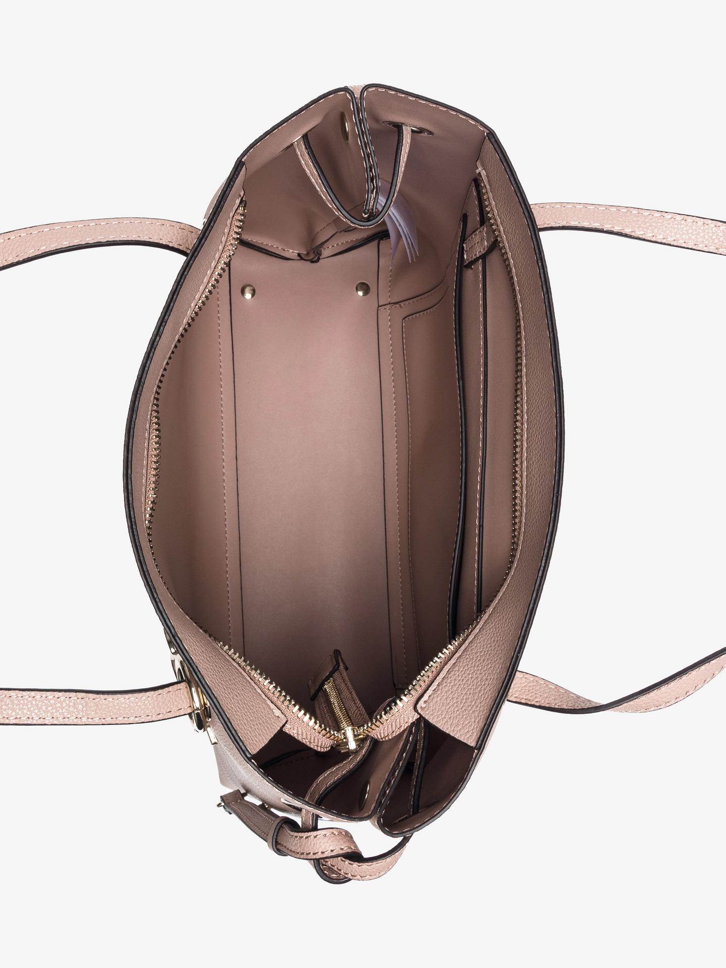 Guess бежова дамска чанта Digital