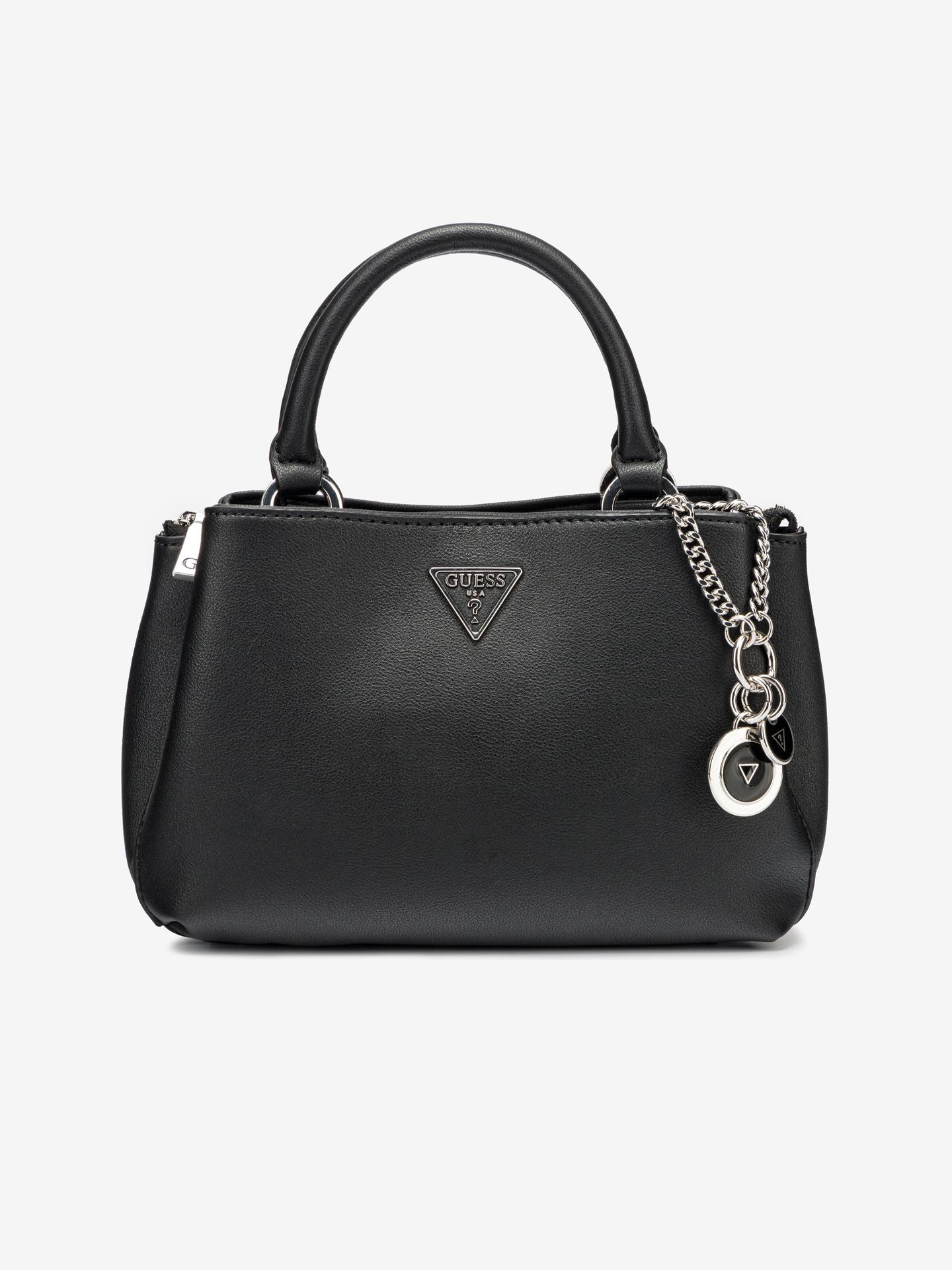 Guess черна дамска чанта Ambrose Small
