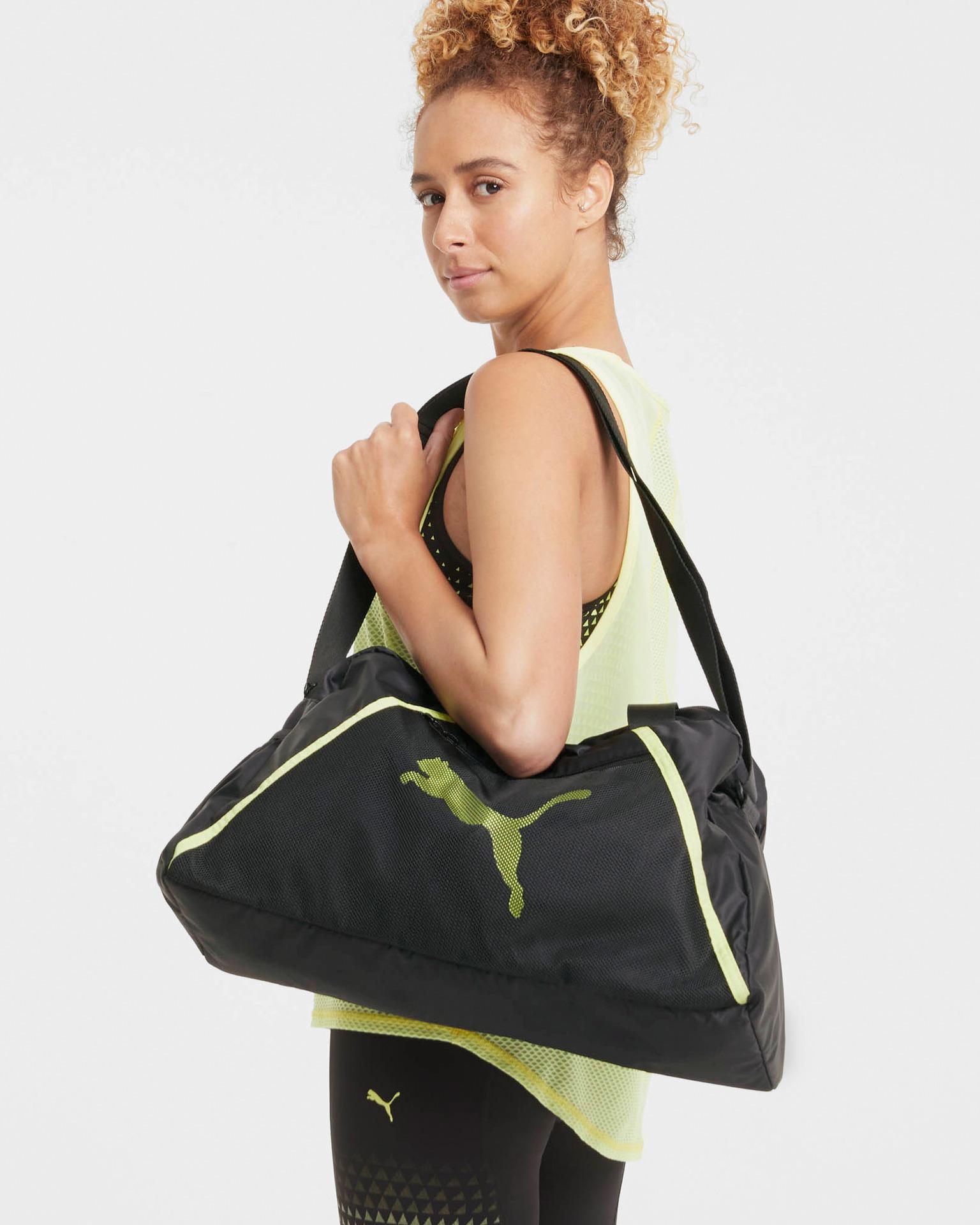 Puma черна чанта At Ess Grip