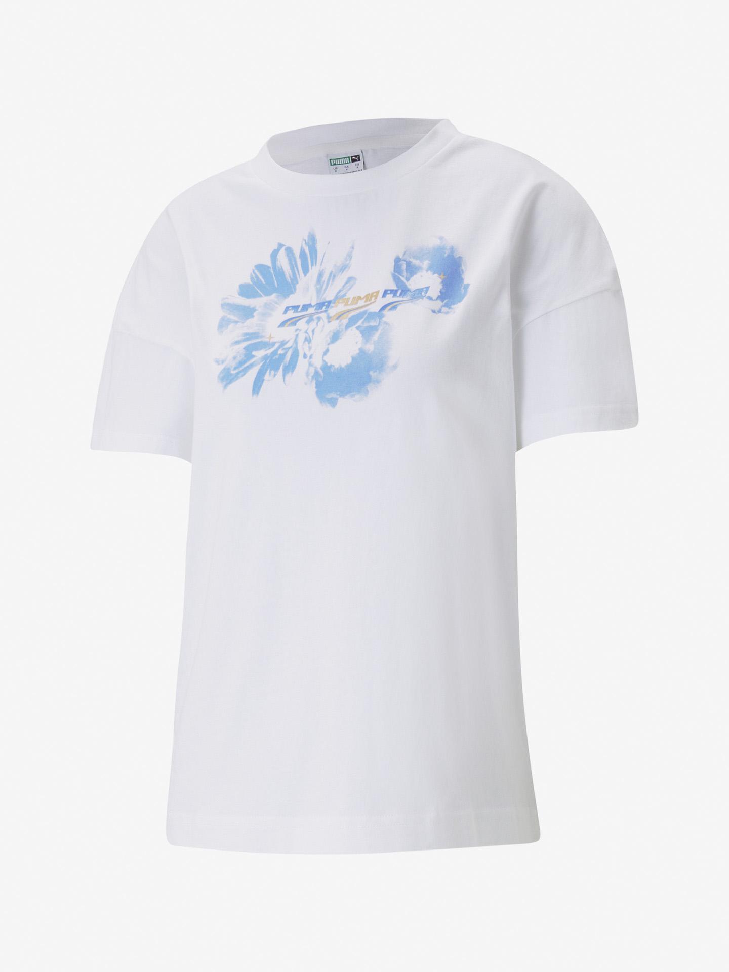 Puma Evide Graphic Тениска Byal