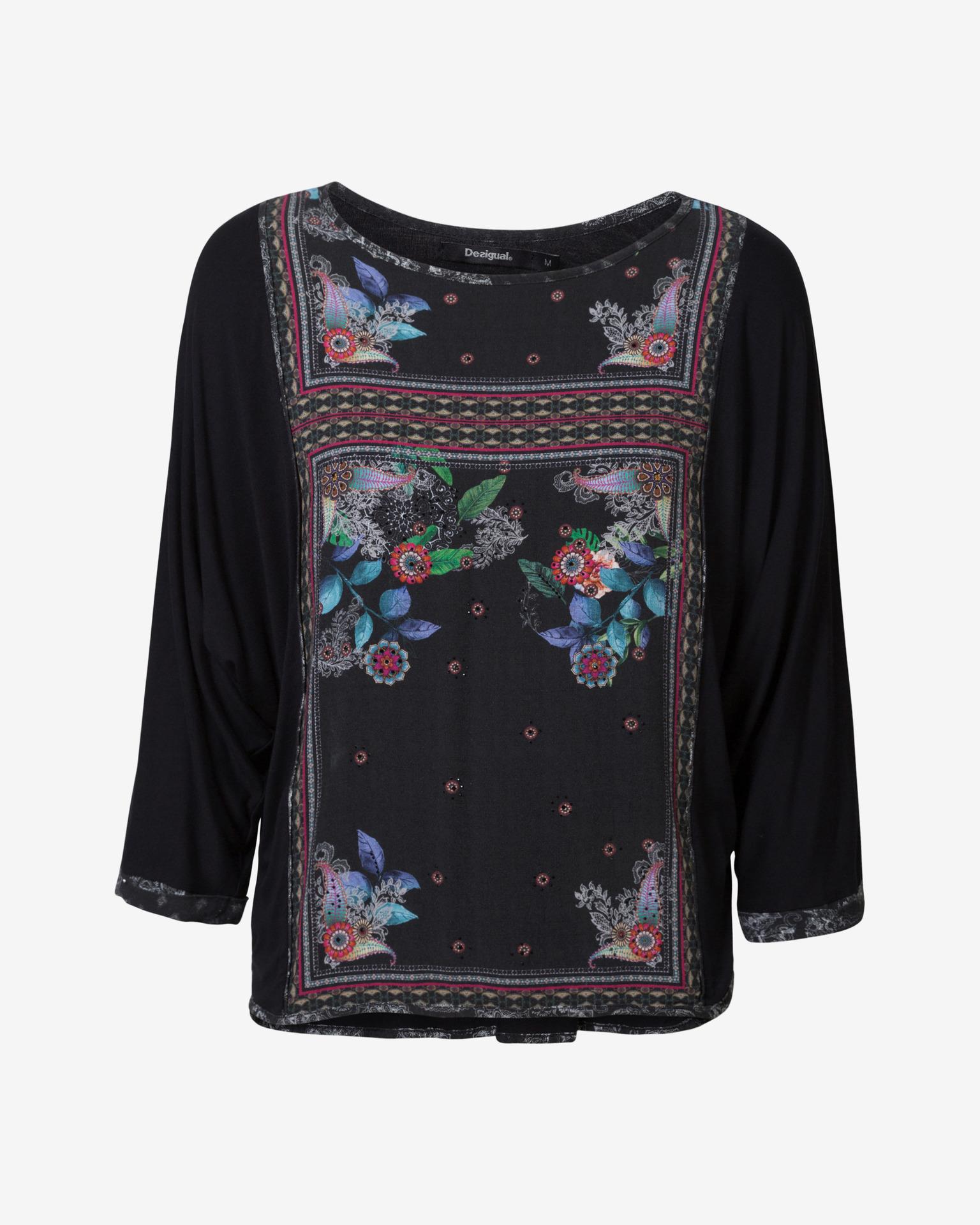 Desigual черна женски риза Orinoco