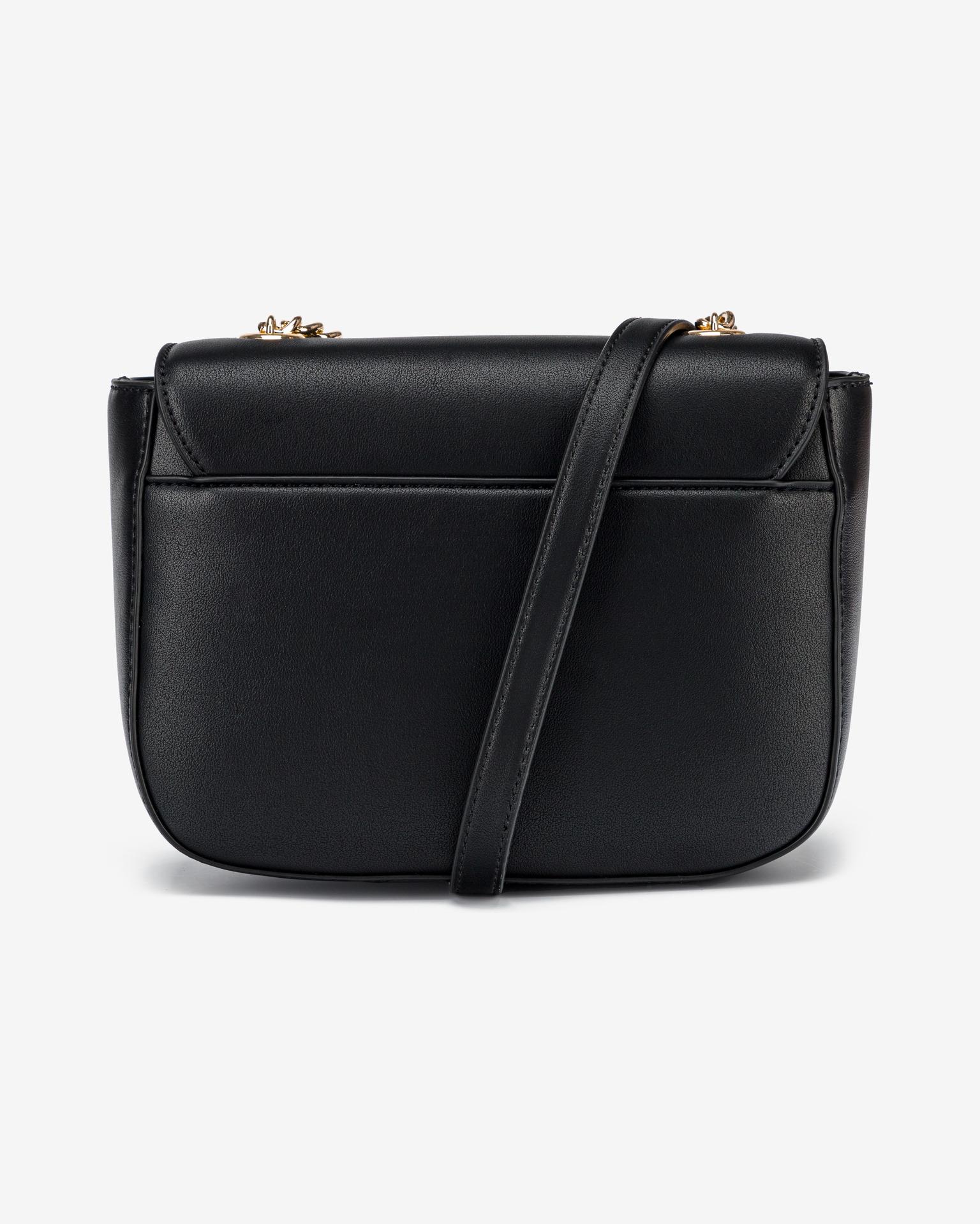 Love Moschino черна crossbody дамска чанта
