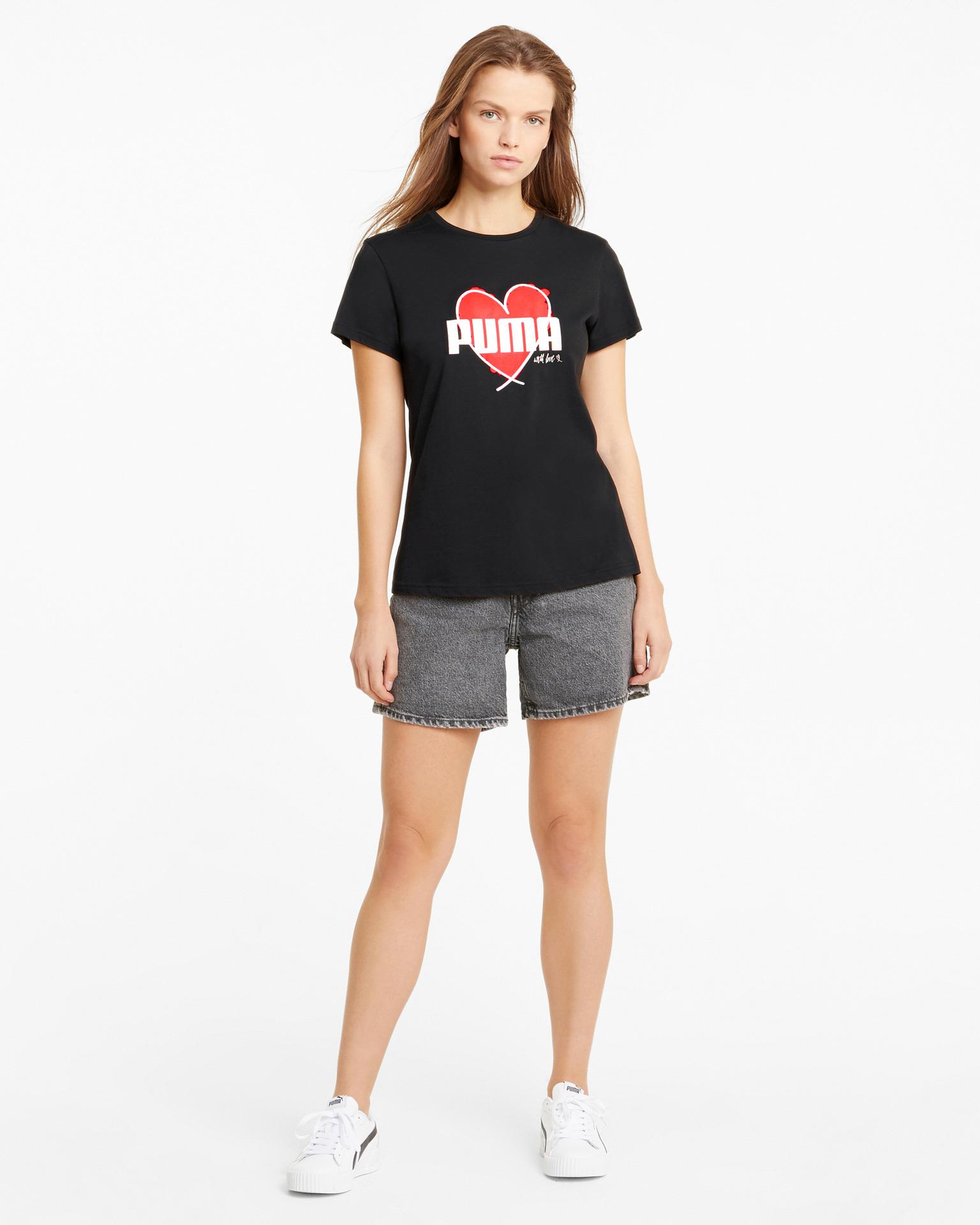 Puma черна женски риза Heart