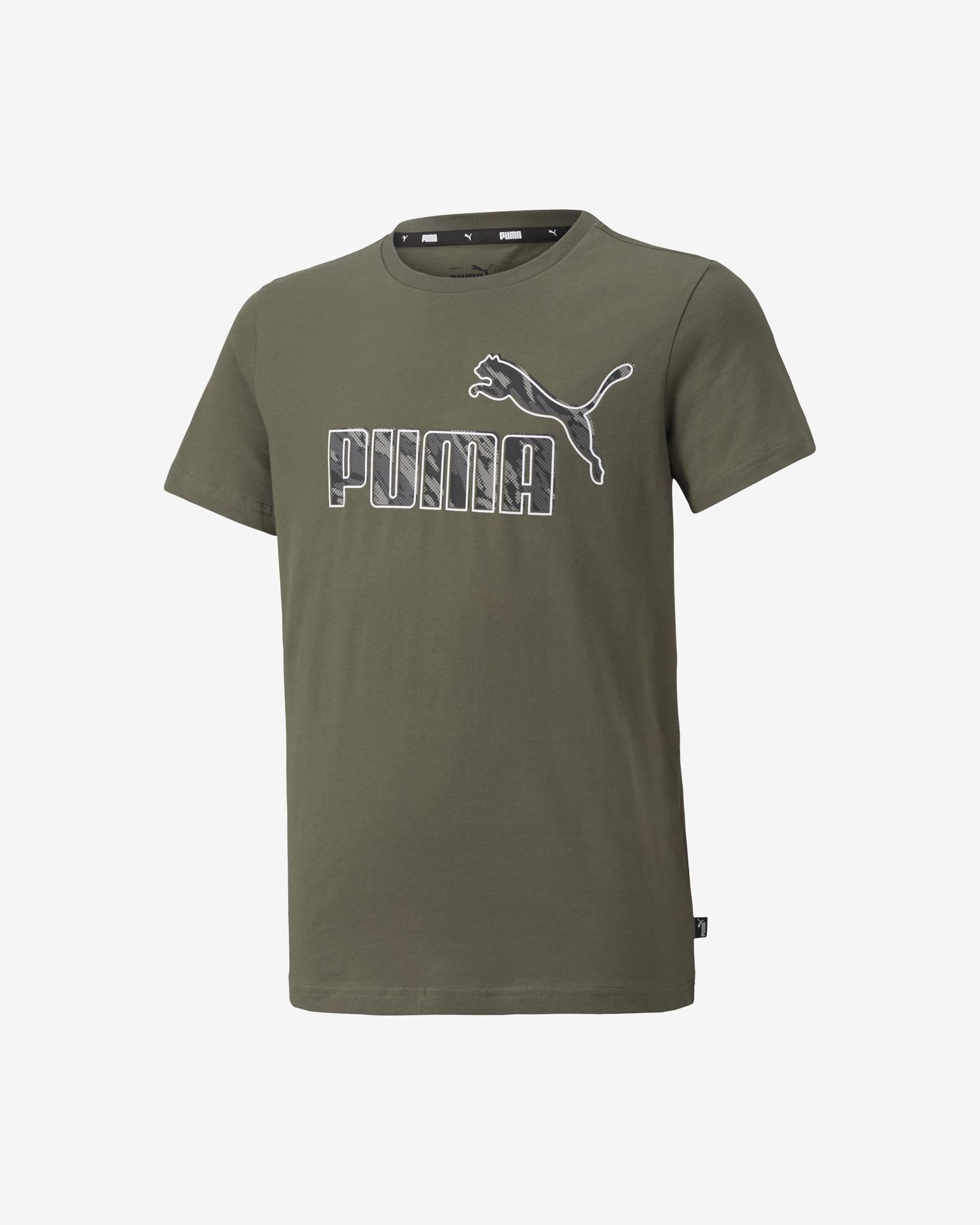 Puma Graphic Тениска детски Zelen