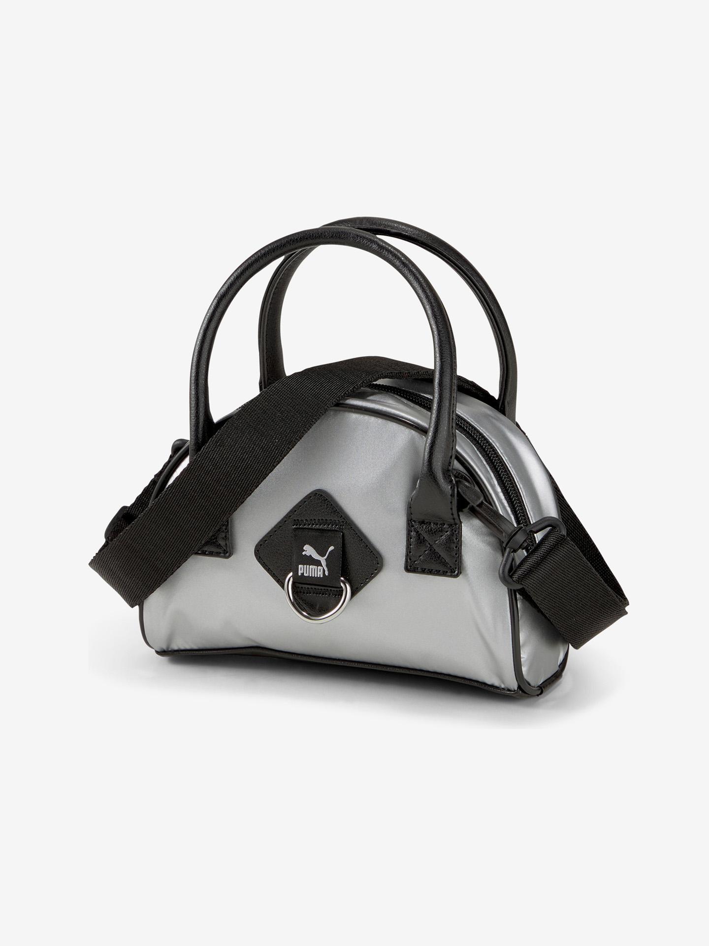 Puma сребърна дамска чанта Prime Time Mini Grip
