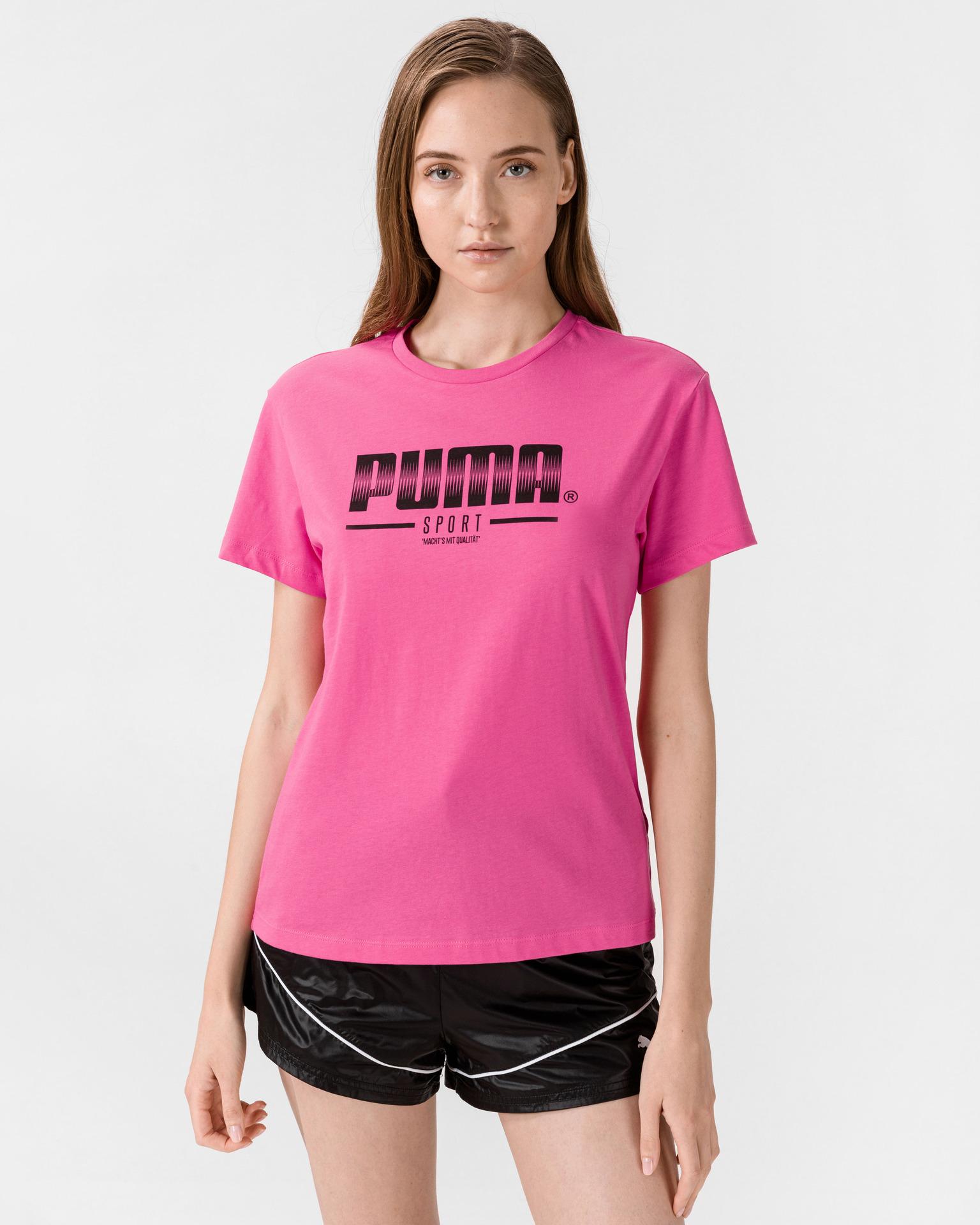 Puma розова женски риза