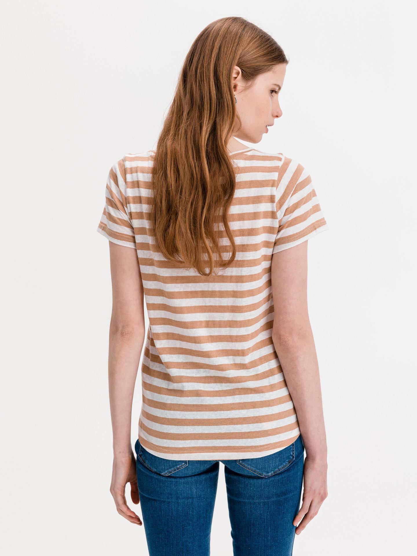 Ichi бежова женски риза Yulietta