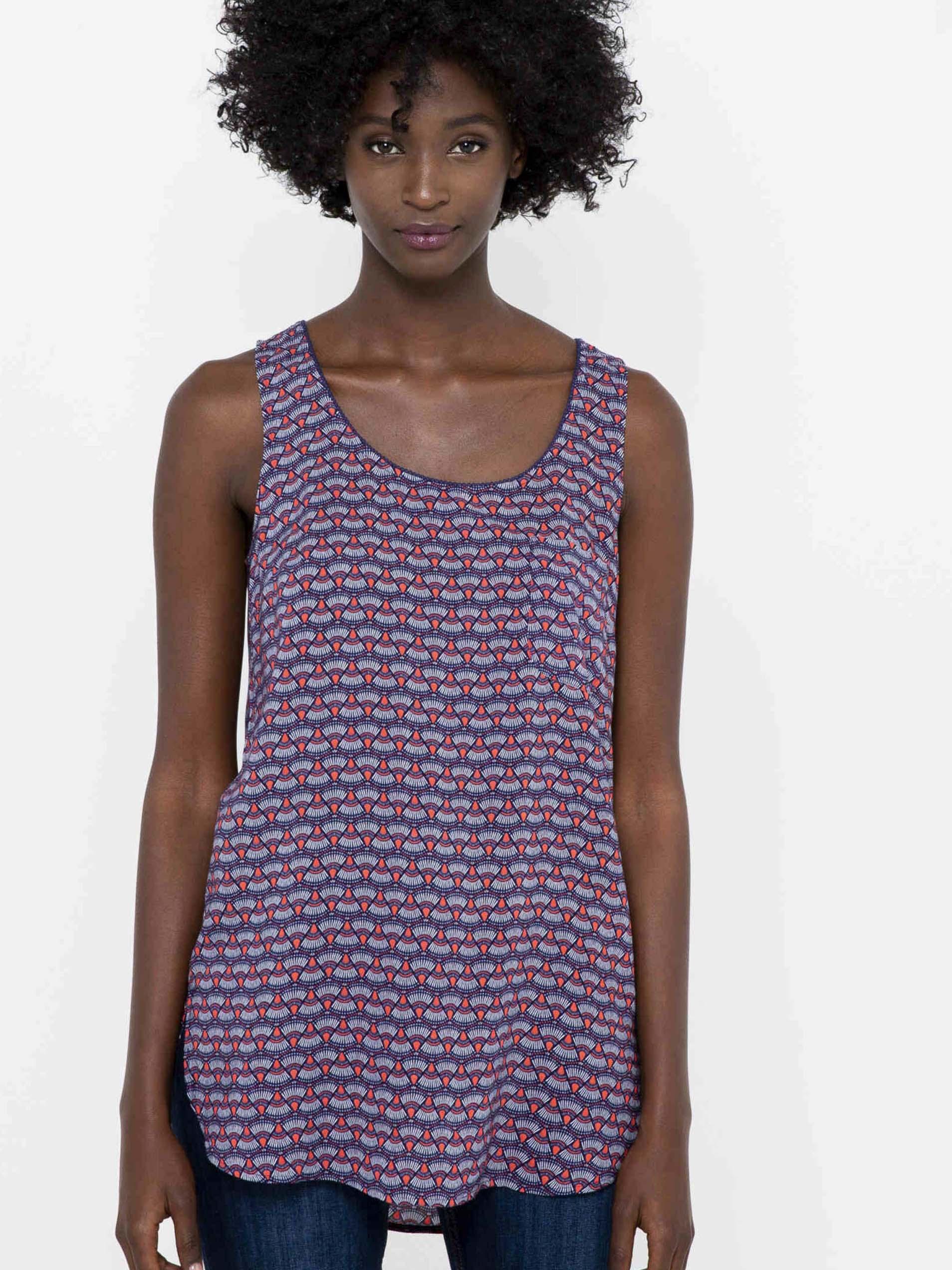 CAMAIEU Дамска блуза лилаво
