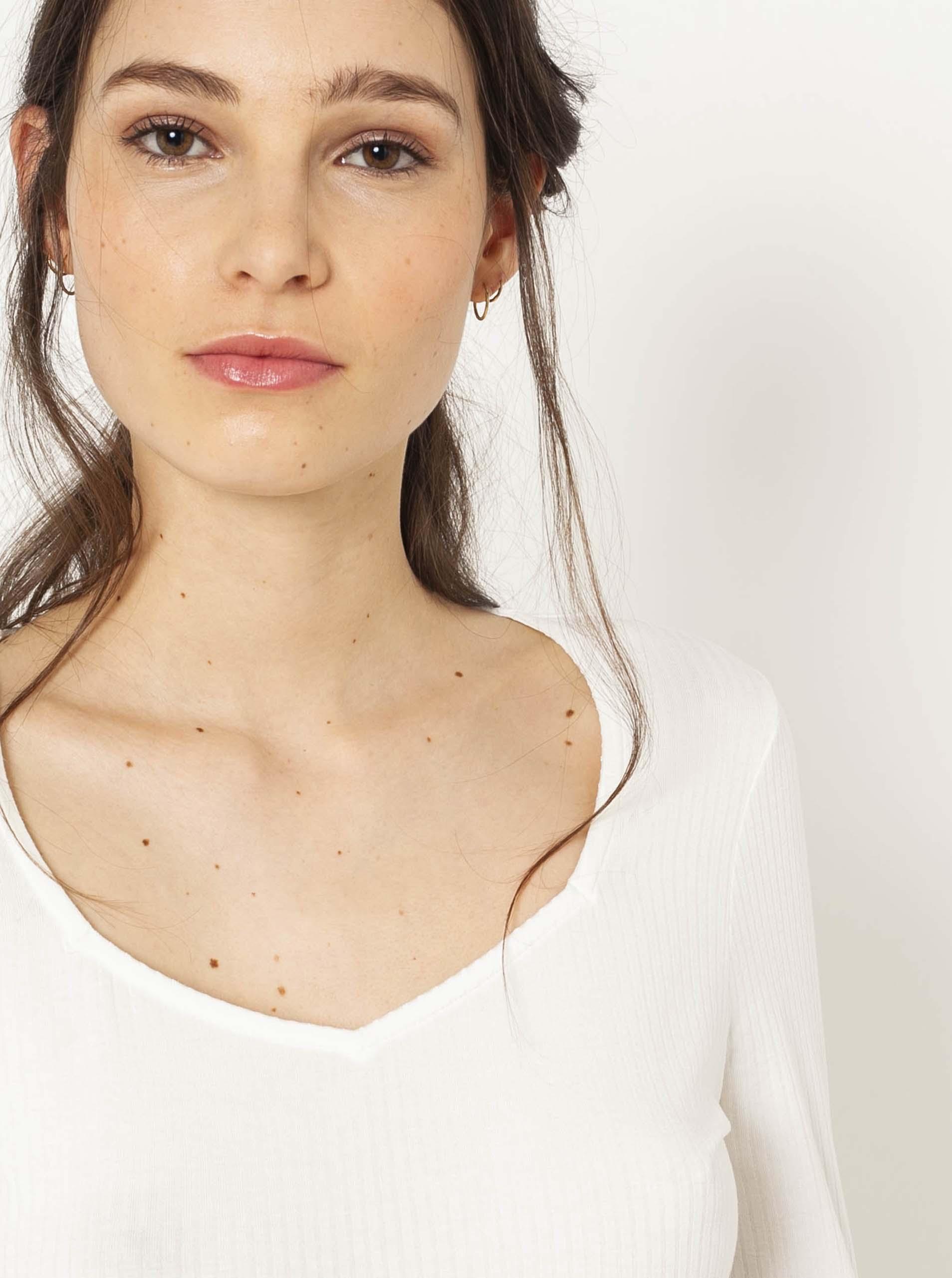 CAMAIEU бяла женски риза